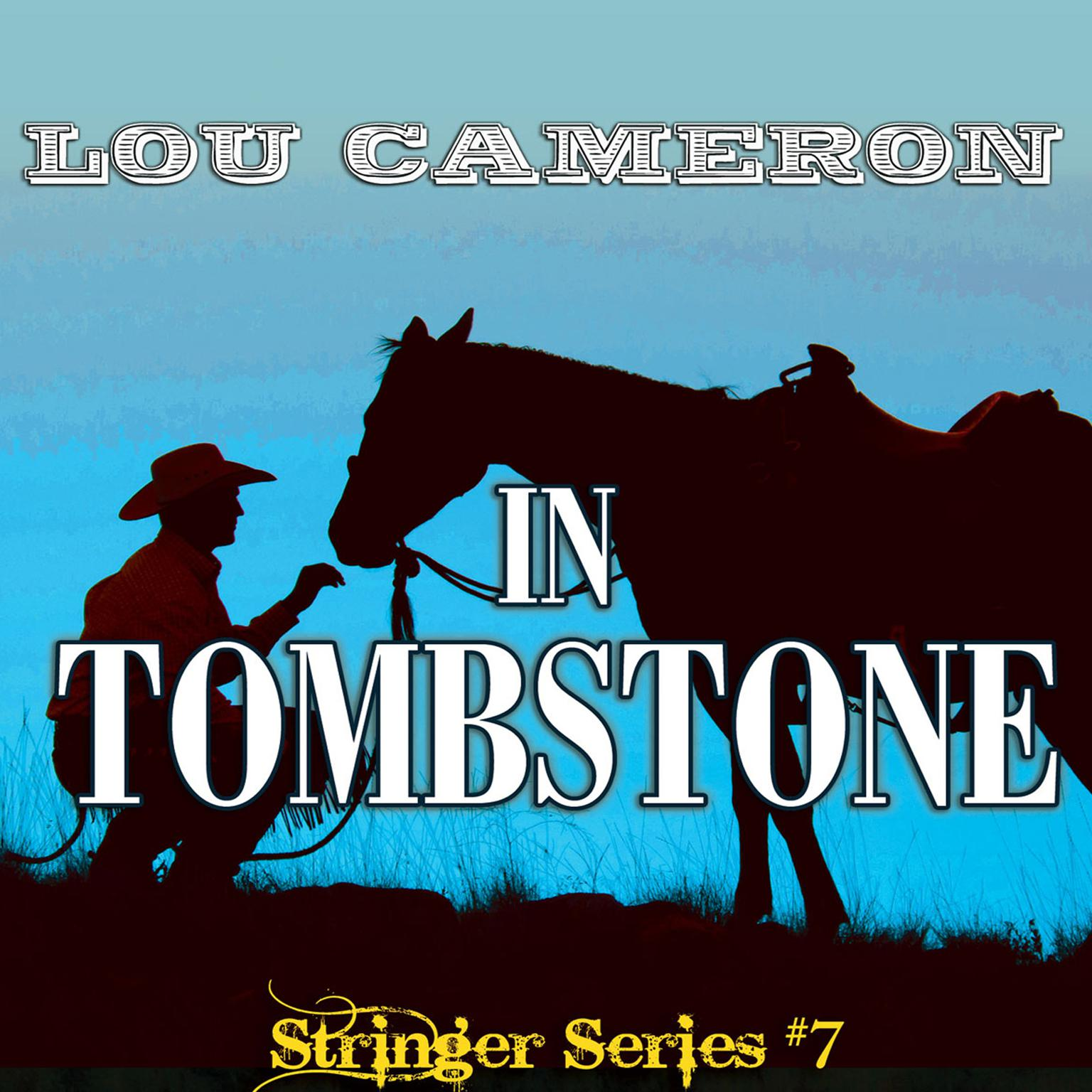 Printable Stringer in Tombstone Audiobook Cover Art