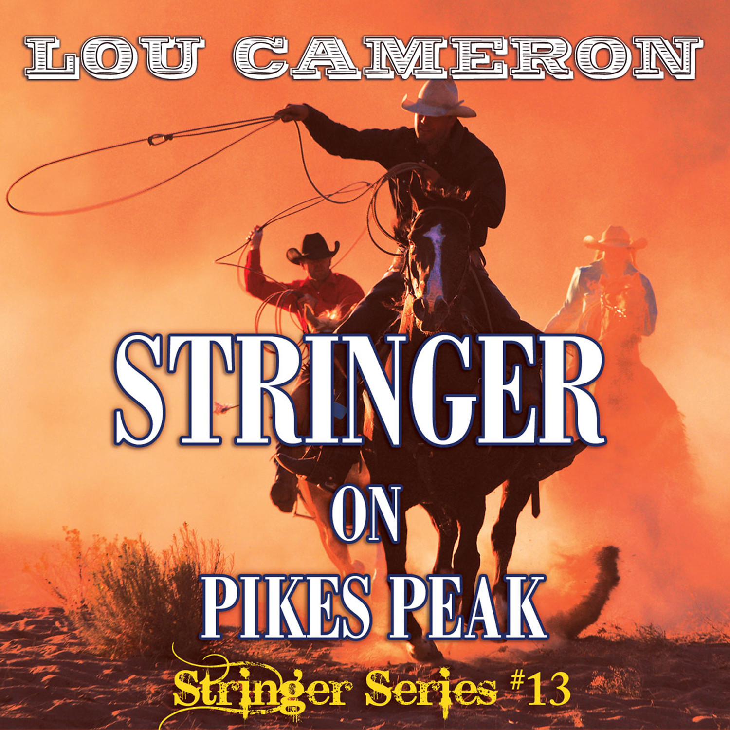 Printable Stringer on Pikes Peak Audiobook Cover Art