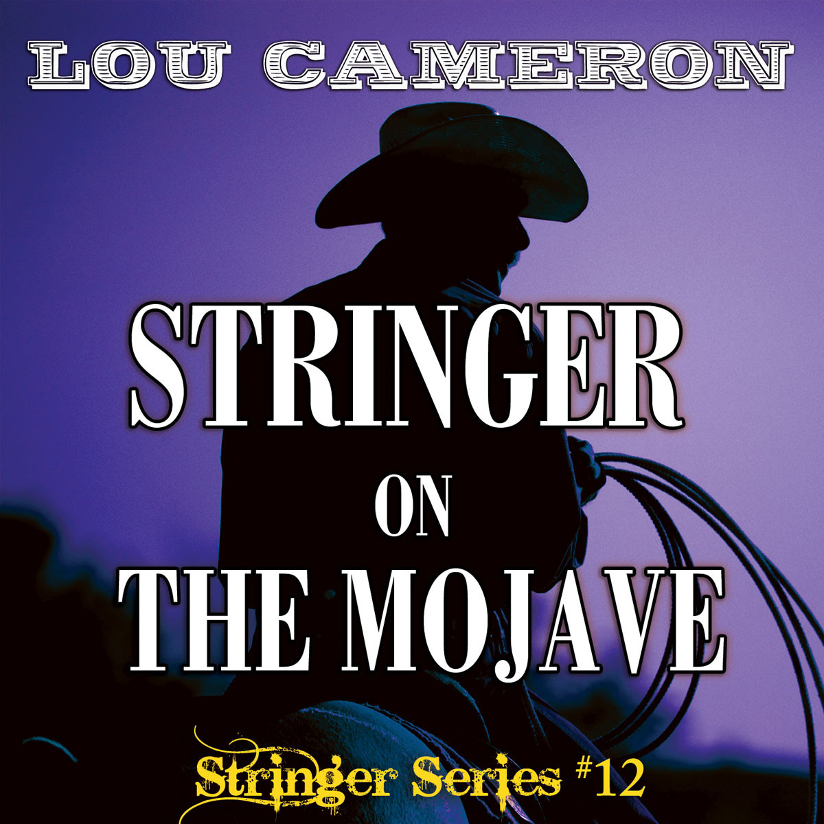 Printable Stringer on the Mojave Audiobook Cover Art