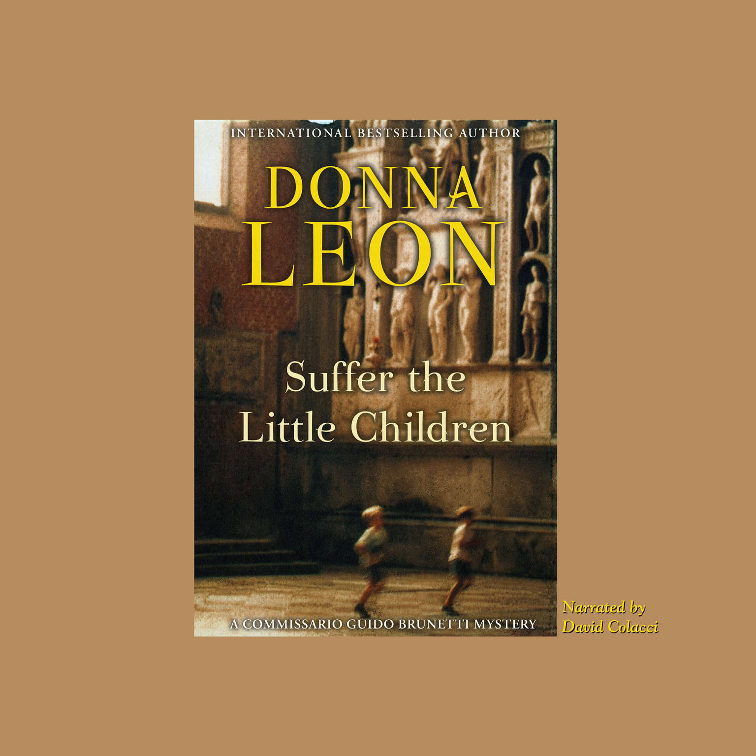 Printable Suffer the Little Children Audiobook Cover Art