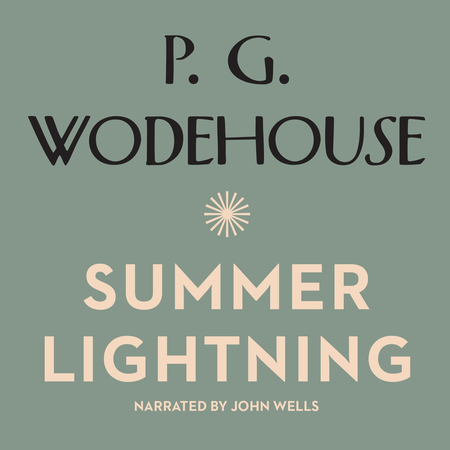 Printable Summer Lightning Audiobook Cover Art