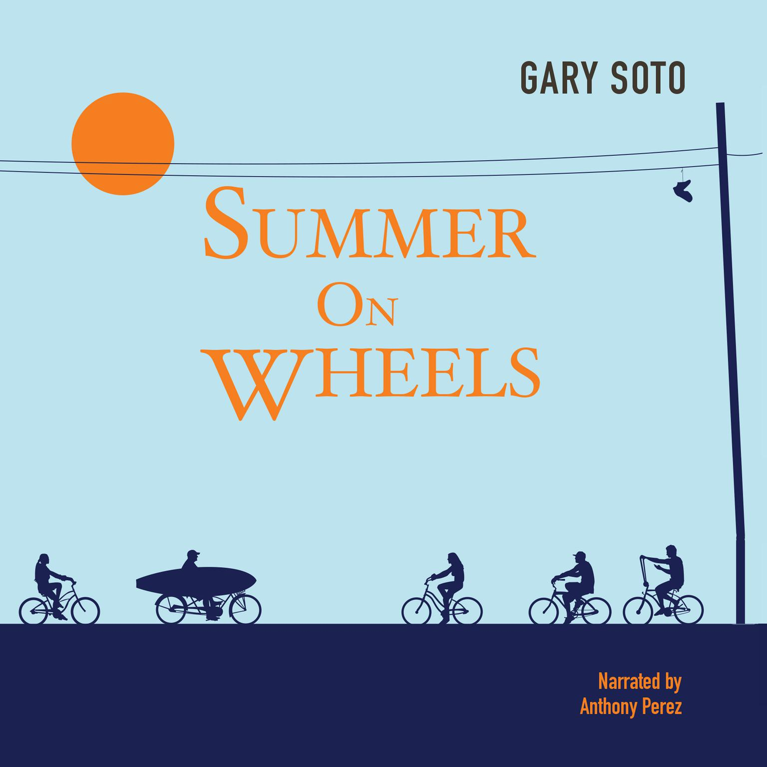 Printable Summer on Wheels Audiobook Cover Art