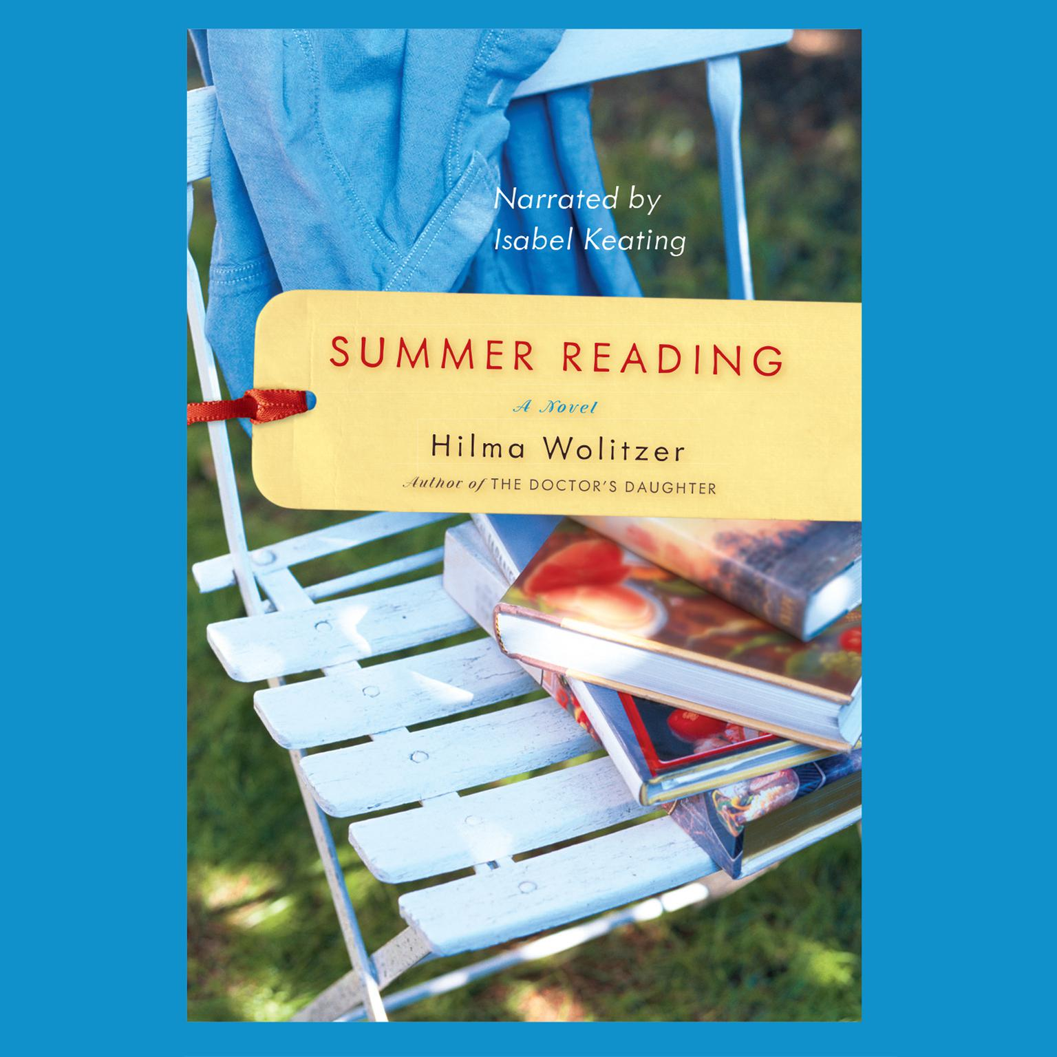 Printable Summer Reading Audiobook Cover Art