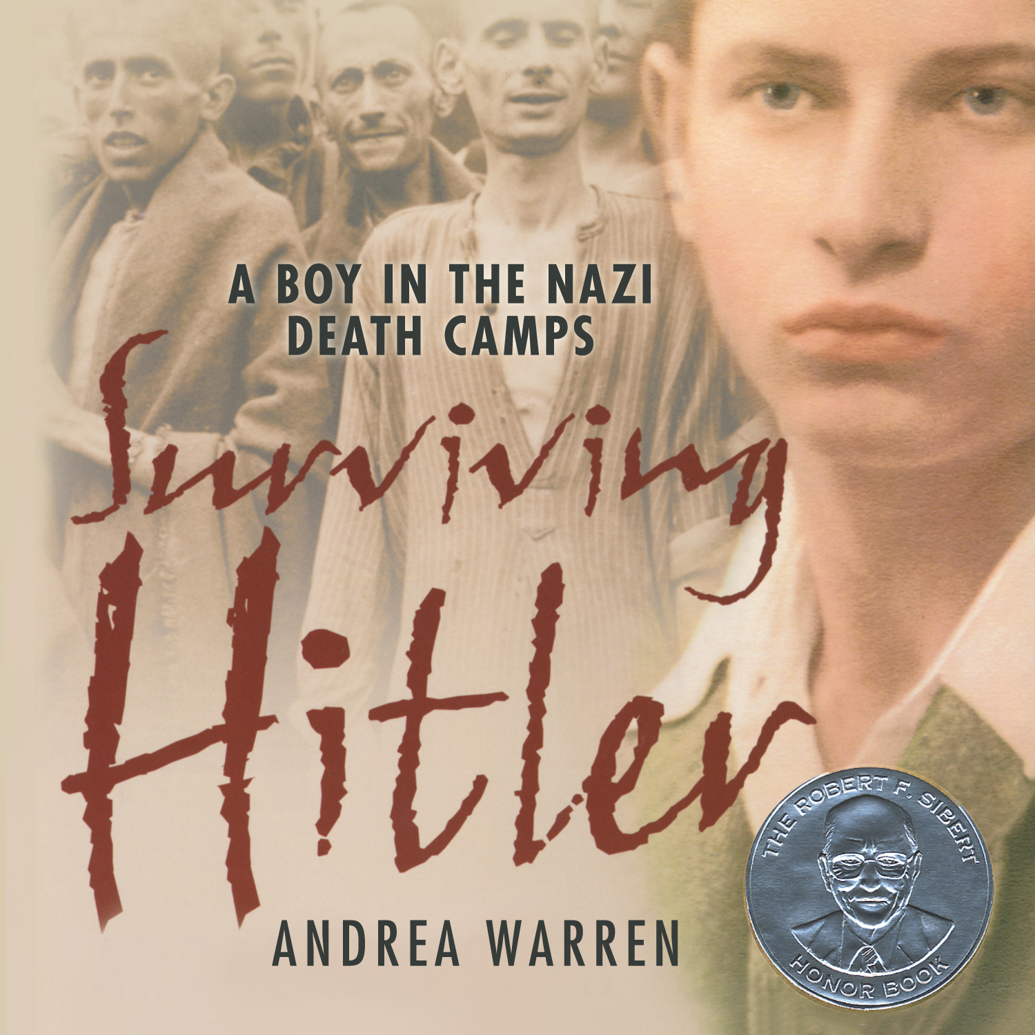 Printable Surviving Hitler: A Boy in the Nazi Death Camps Audiobook Cover Art