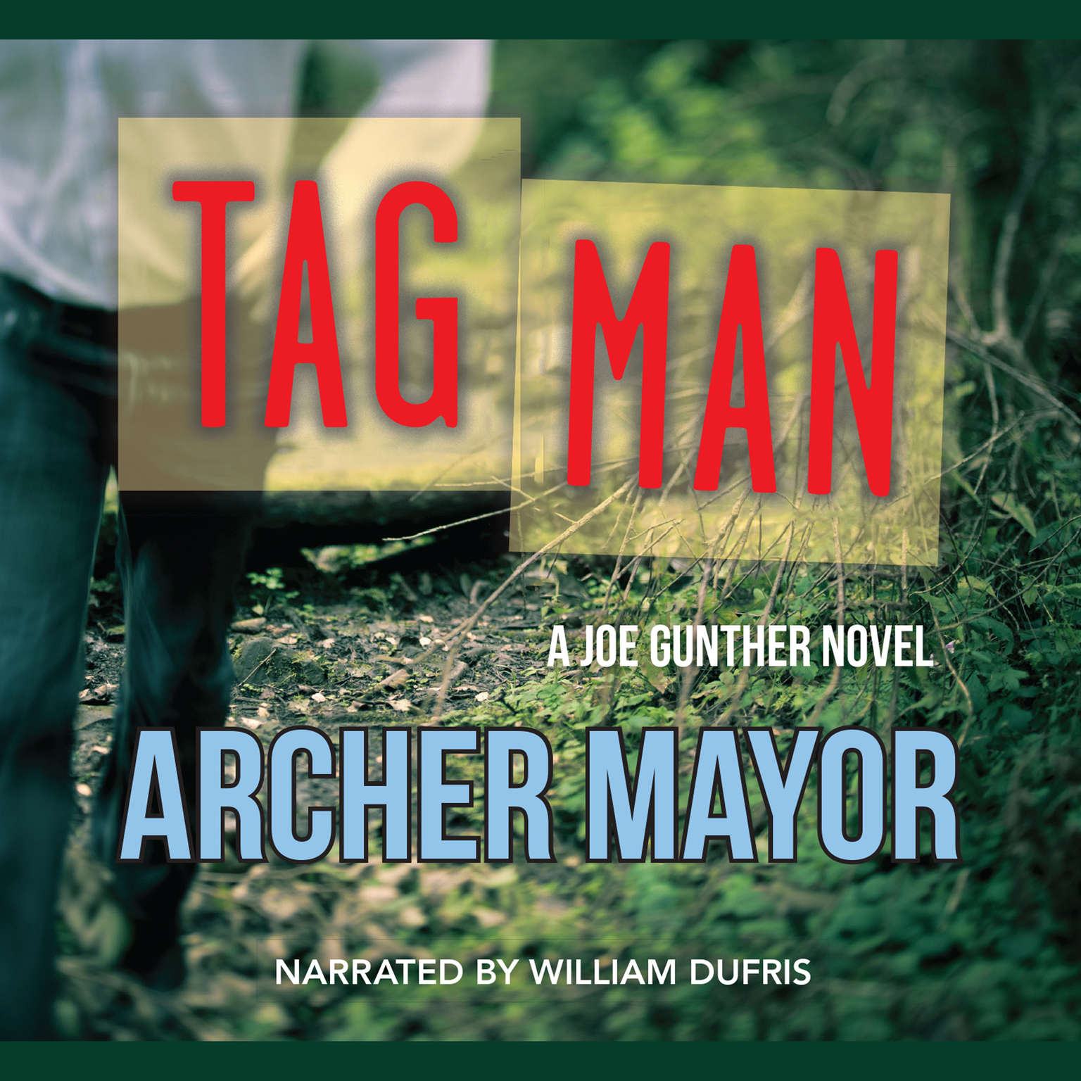Printable Tag Man Audiobook Cover Art