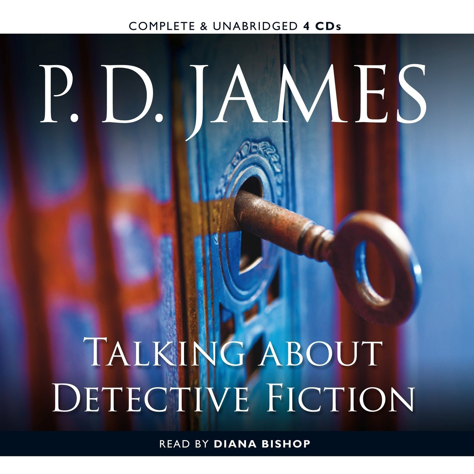 Printable Talking about Detective Fiction Audiobook Cover Art