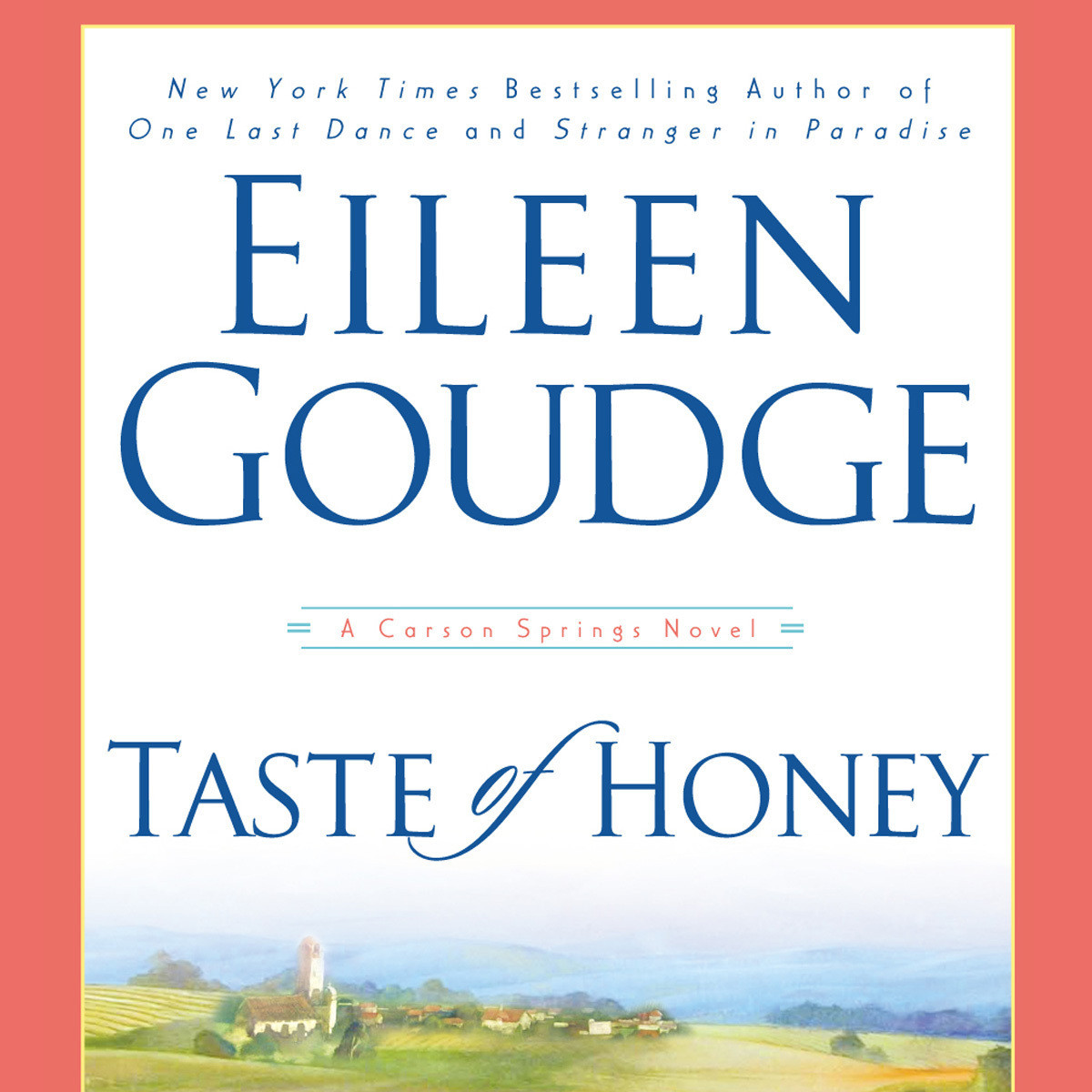 Printable Taste of Honey Audiobook Cover Art