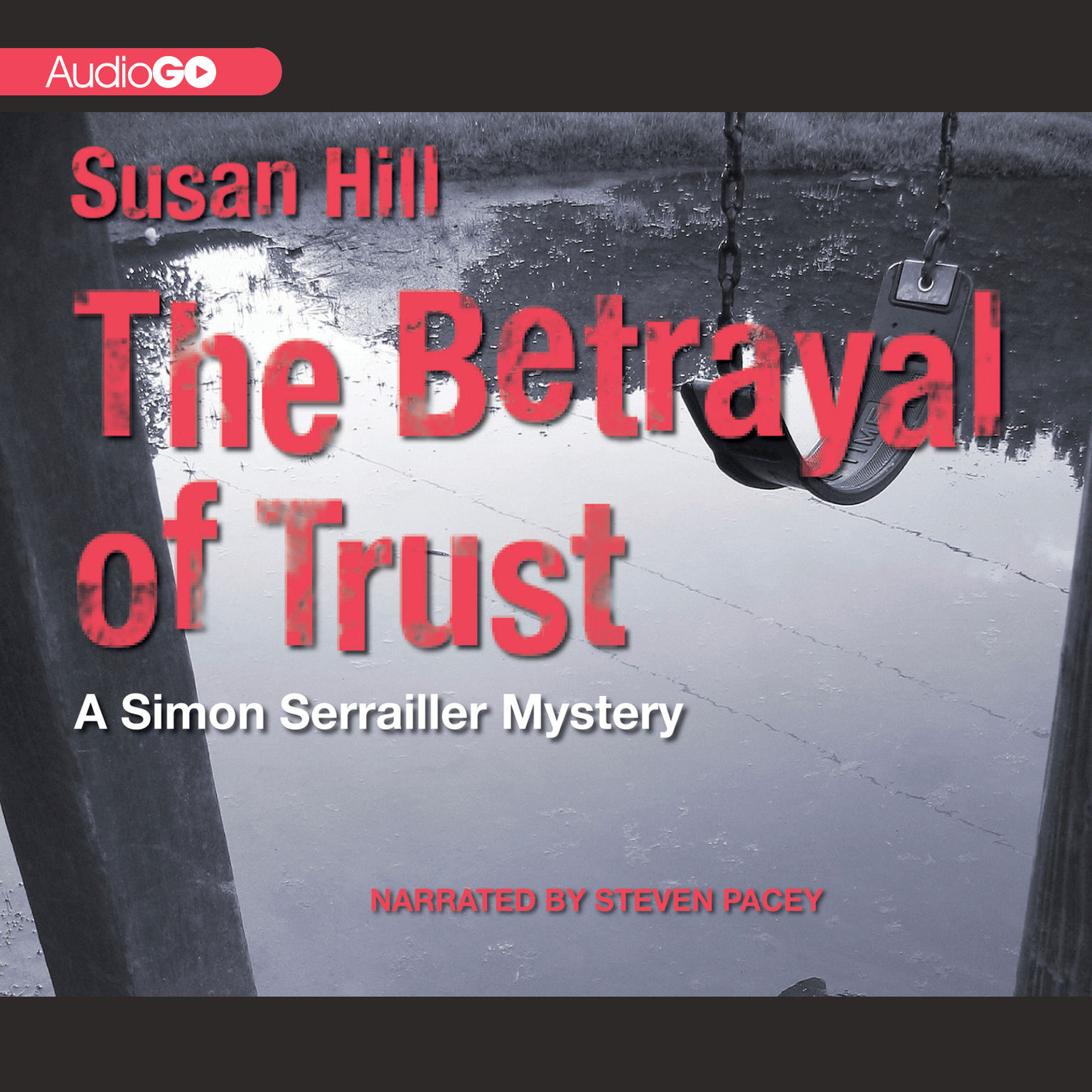 Printable The Betrayal of Trust Audiobook Cover Art