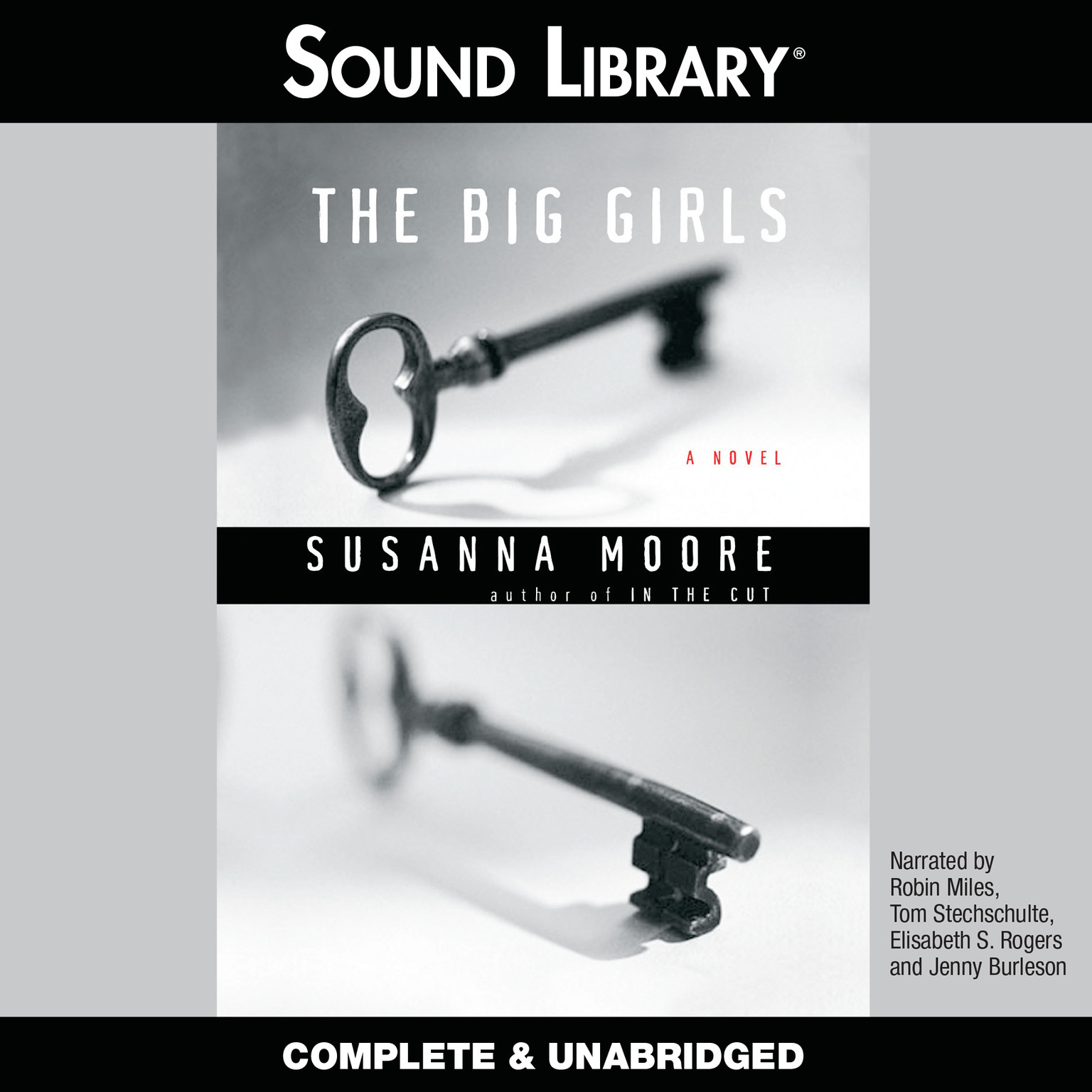 Printable The Big Girls Audiobook Cover Art
