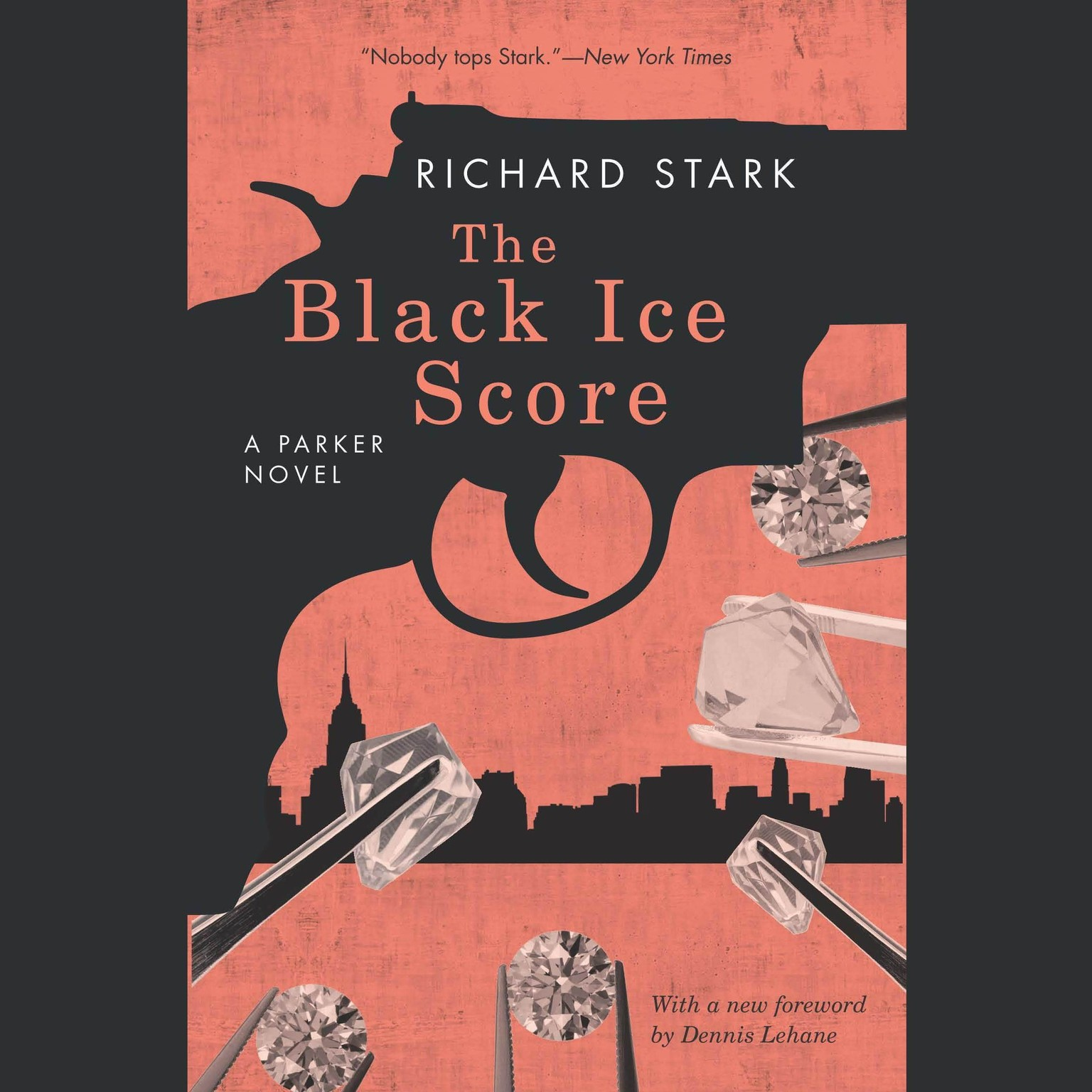 Printable The Black Ice Score Audiobook Cover Art
