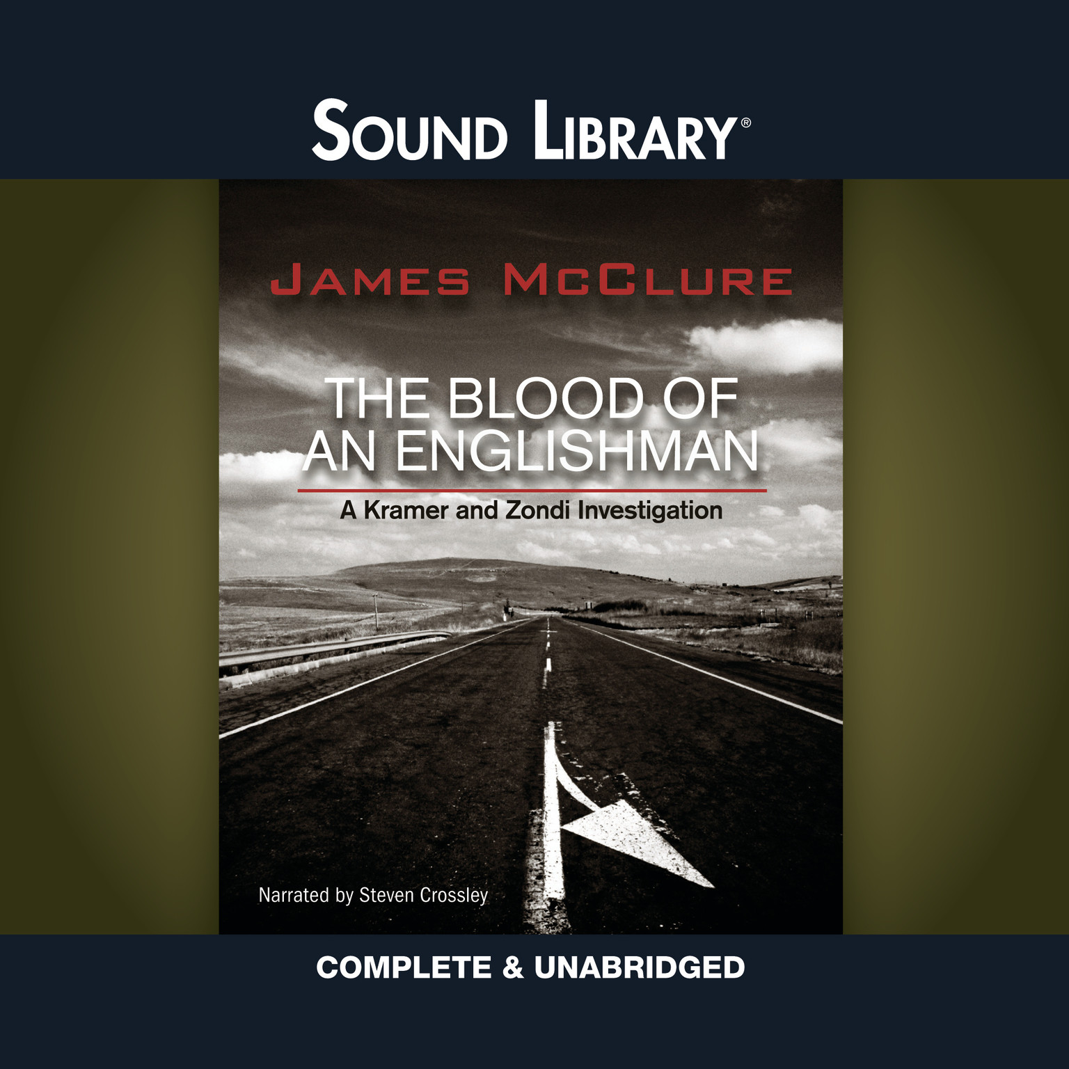Printable The Blood of an Englishman Audiobook Cover Art