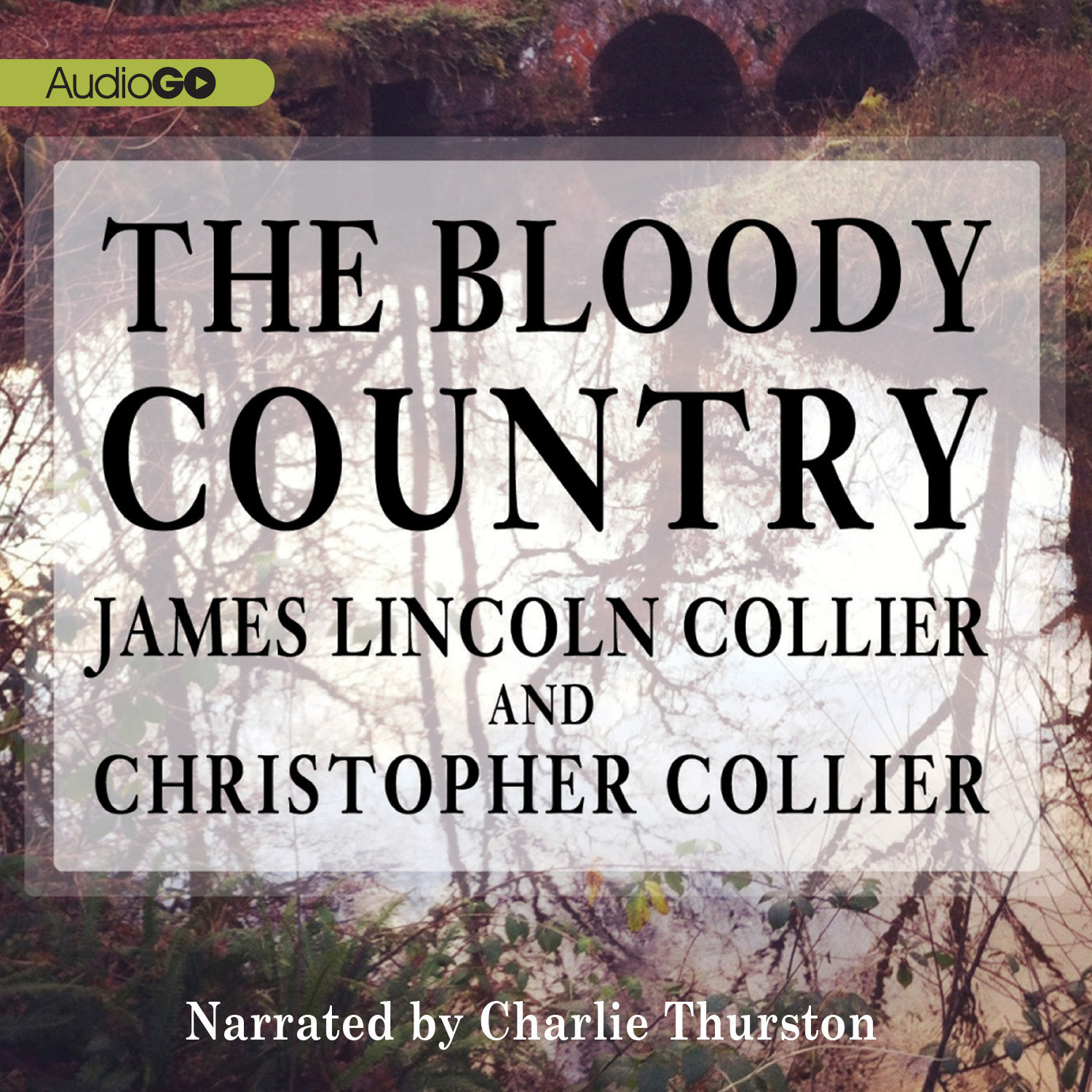 Printable The Bloody Country Audiobook Cover Art
