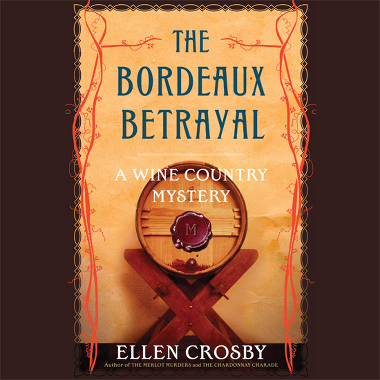 Printable The Bordeaux Betrayal Audiobook Cover Art