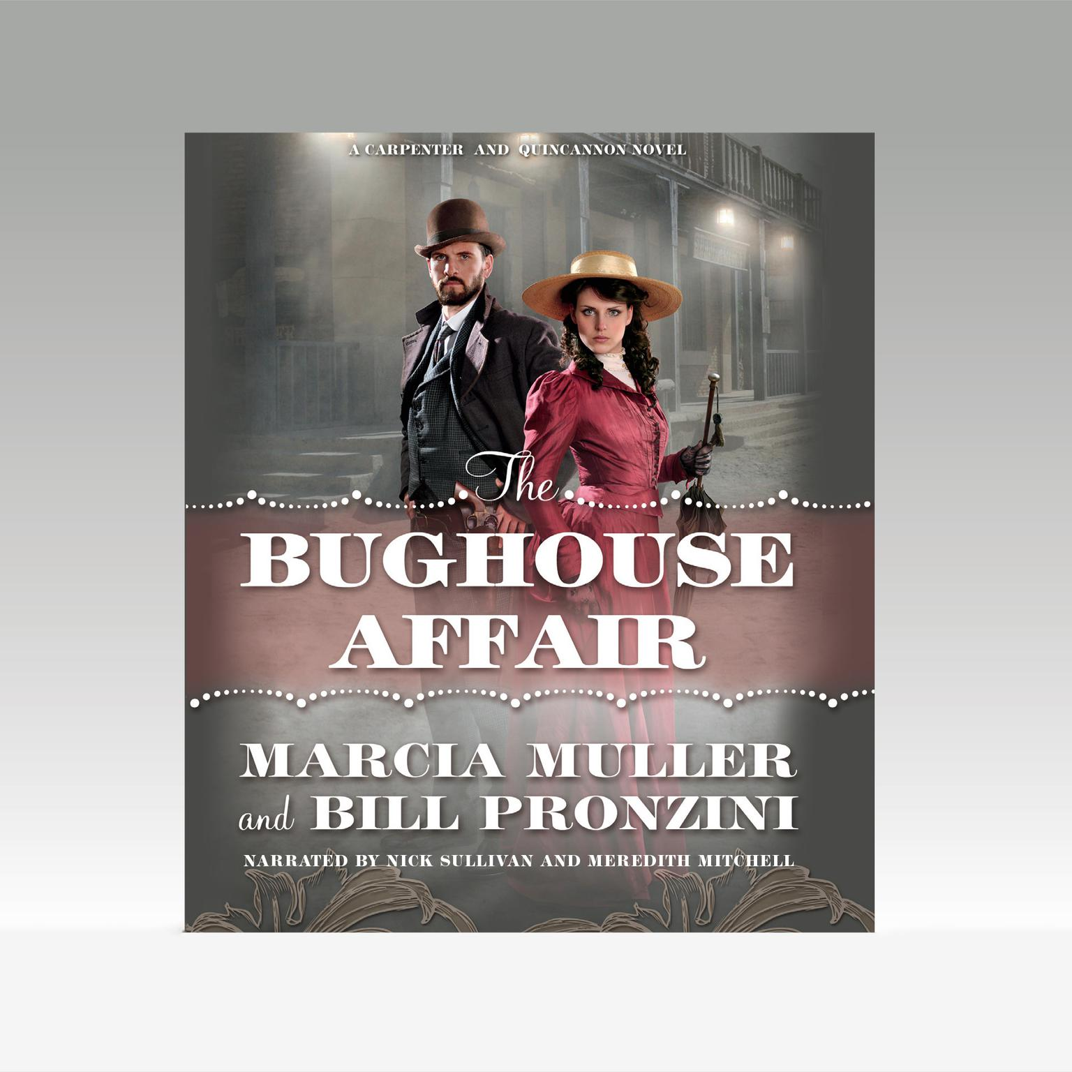 Printable The Bughouse Affair Audiobook Cover Art