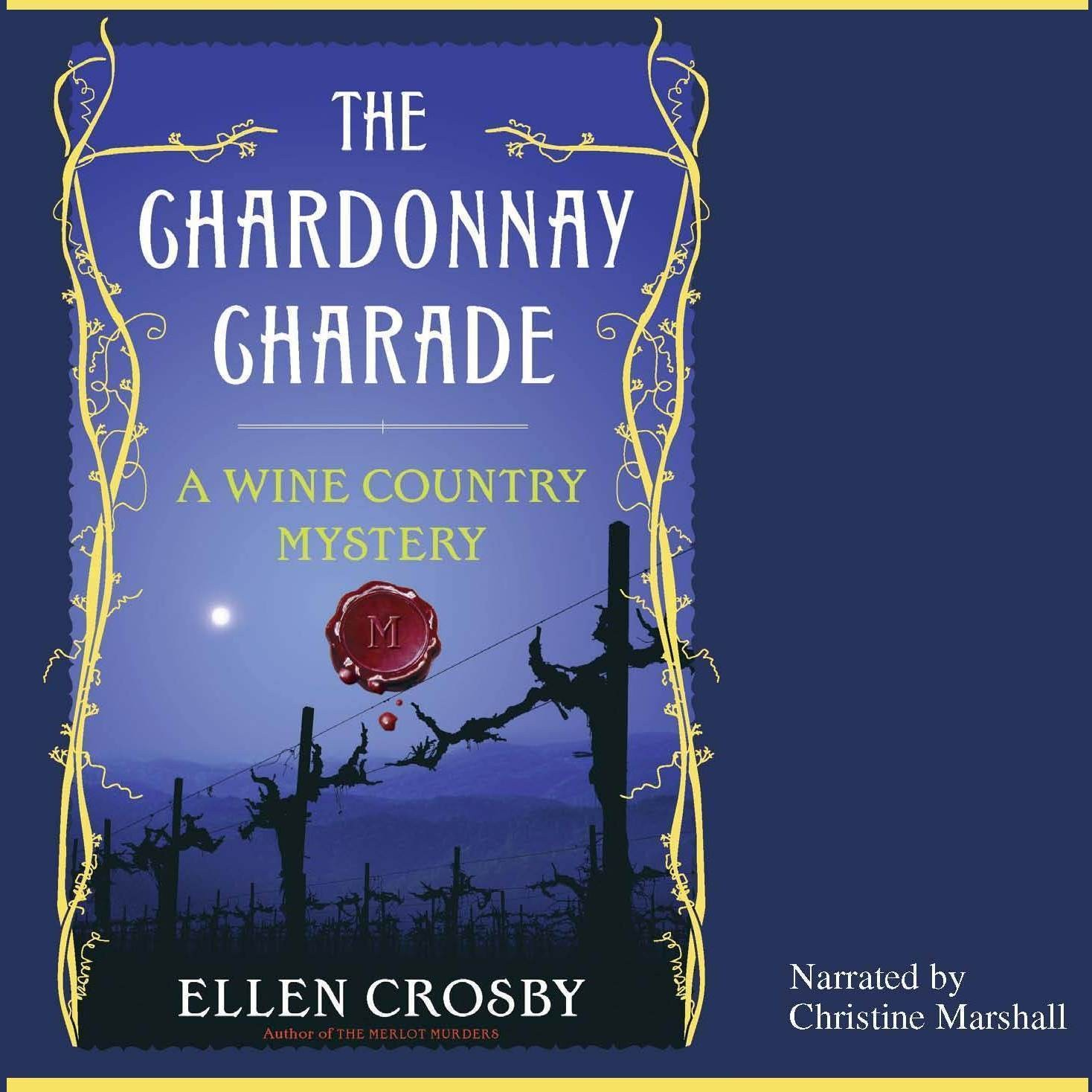 Printable The Chardonnay Charade Audiobook Cover Art