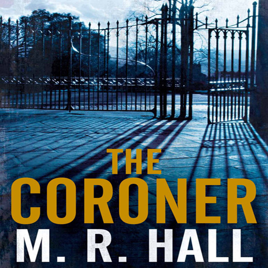 Printable The Coroner Audiobook Cover Art
