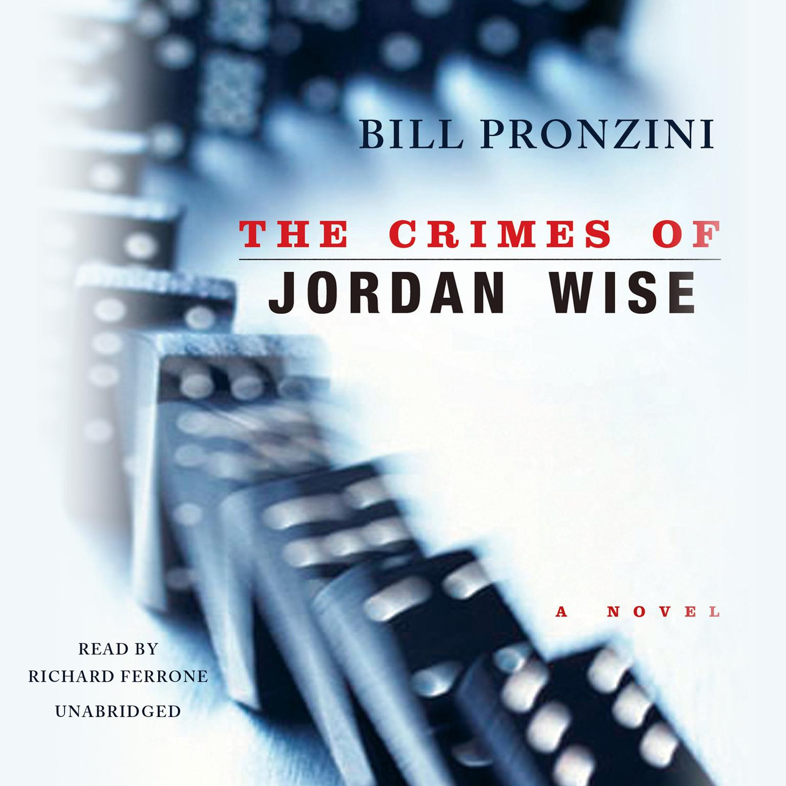 Printable The Crimes of Jordan Wise Audiobook Cover Art