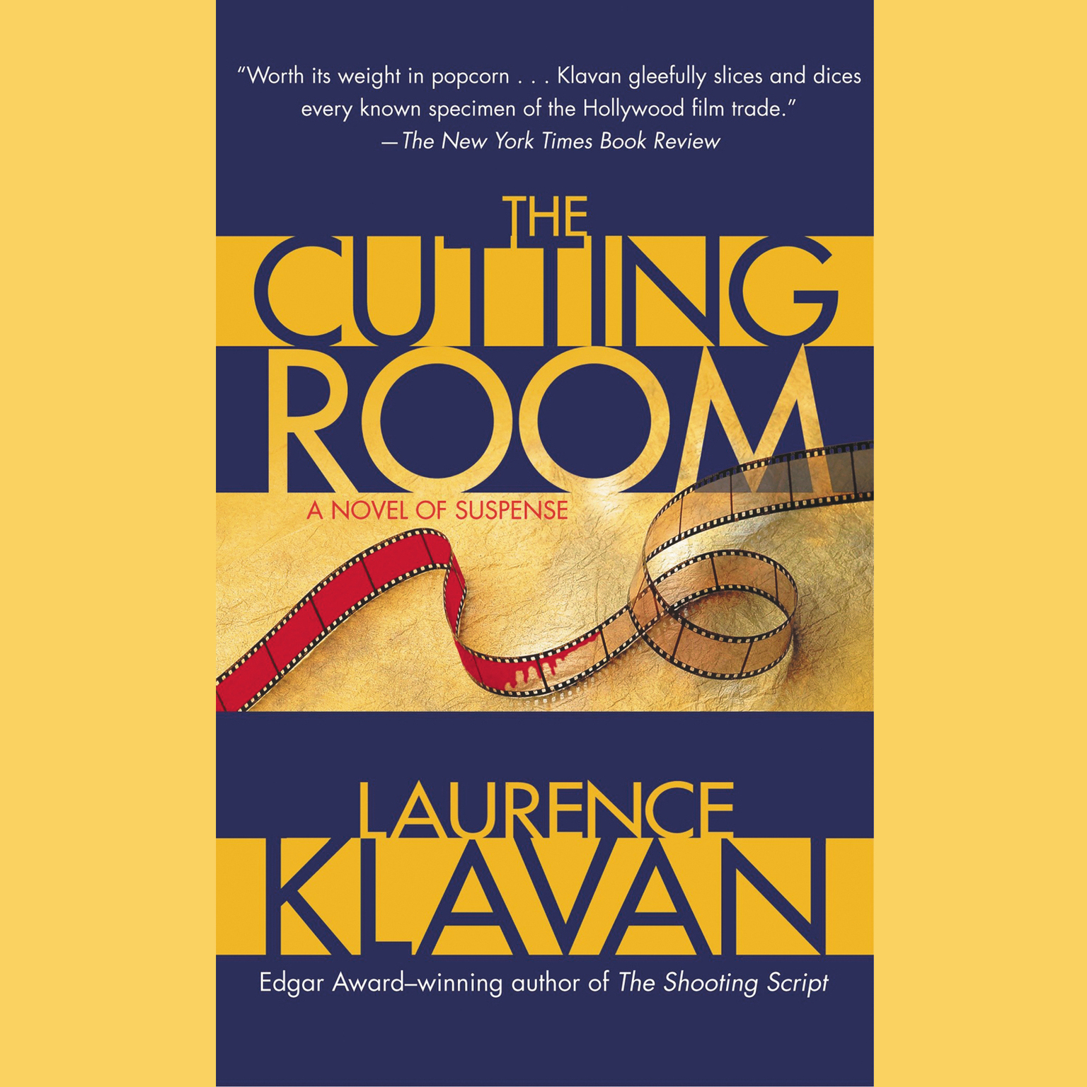 Printable The Cutting Room Audiobook Cover Art