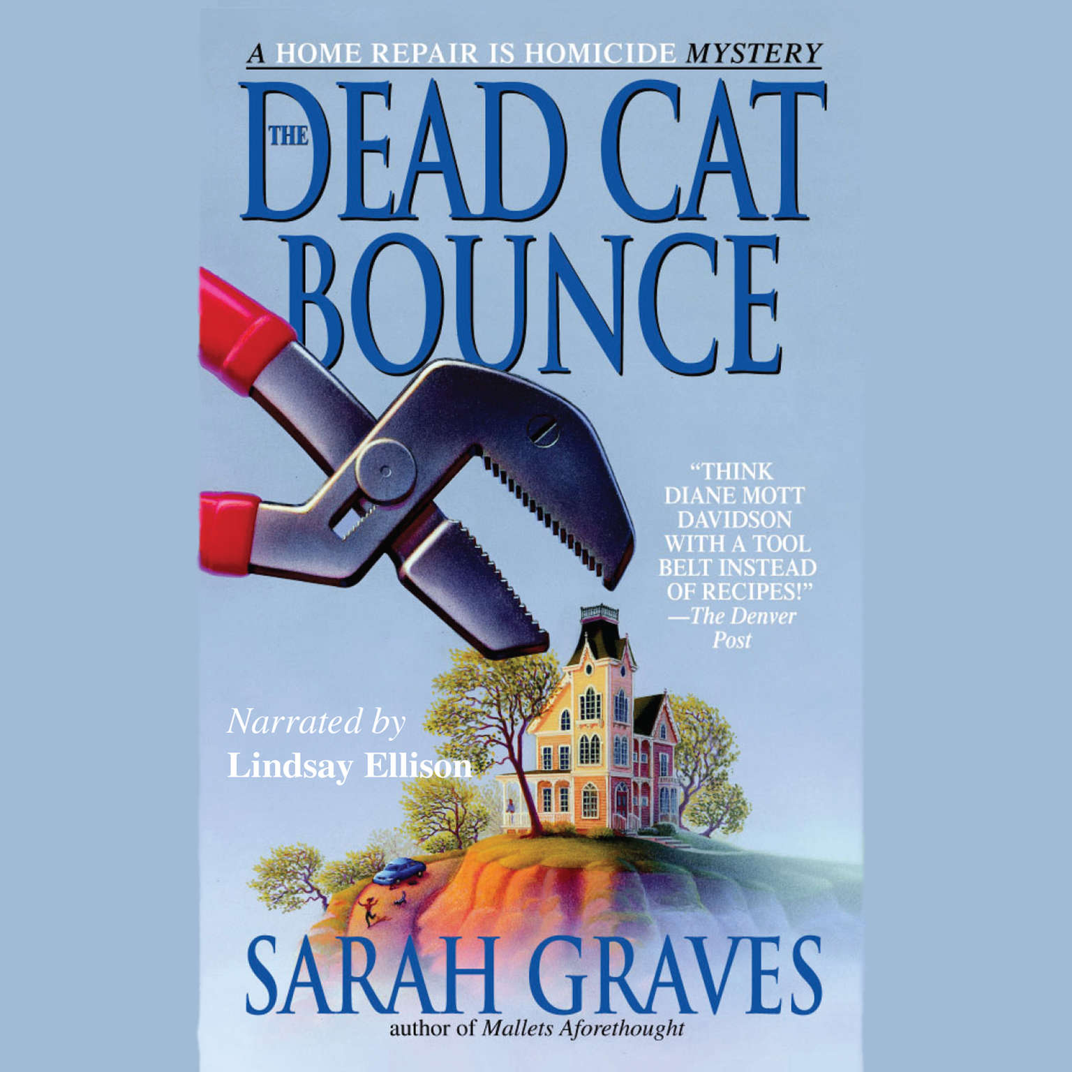 Printable The Dead Cat Bounce Audiobook Cover Art