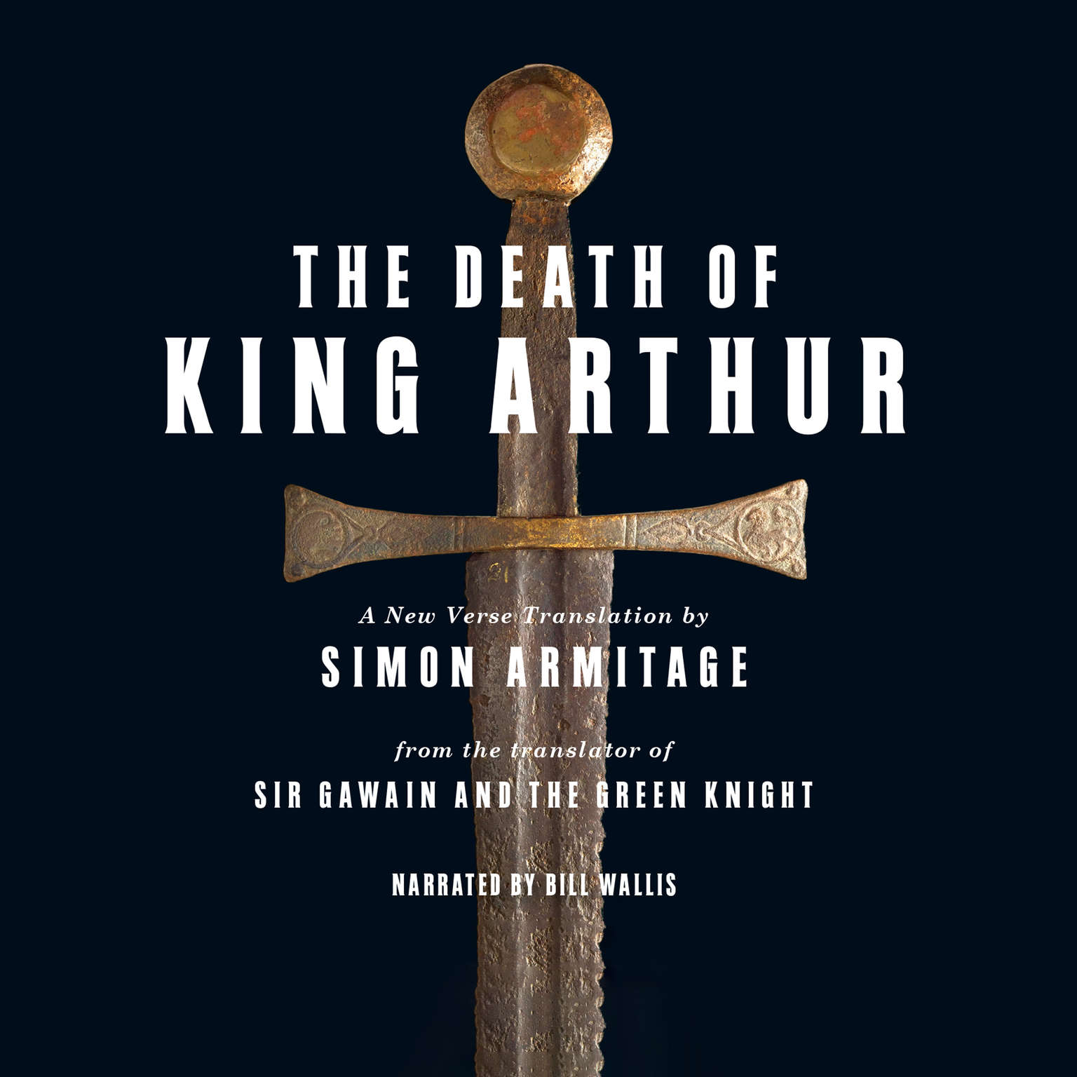 Printable The Death of King Arthur: A New Verse Translation Audiobook Cover Art