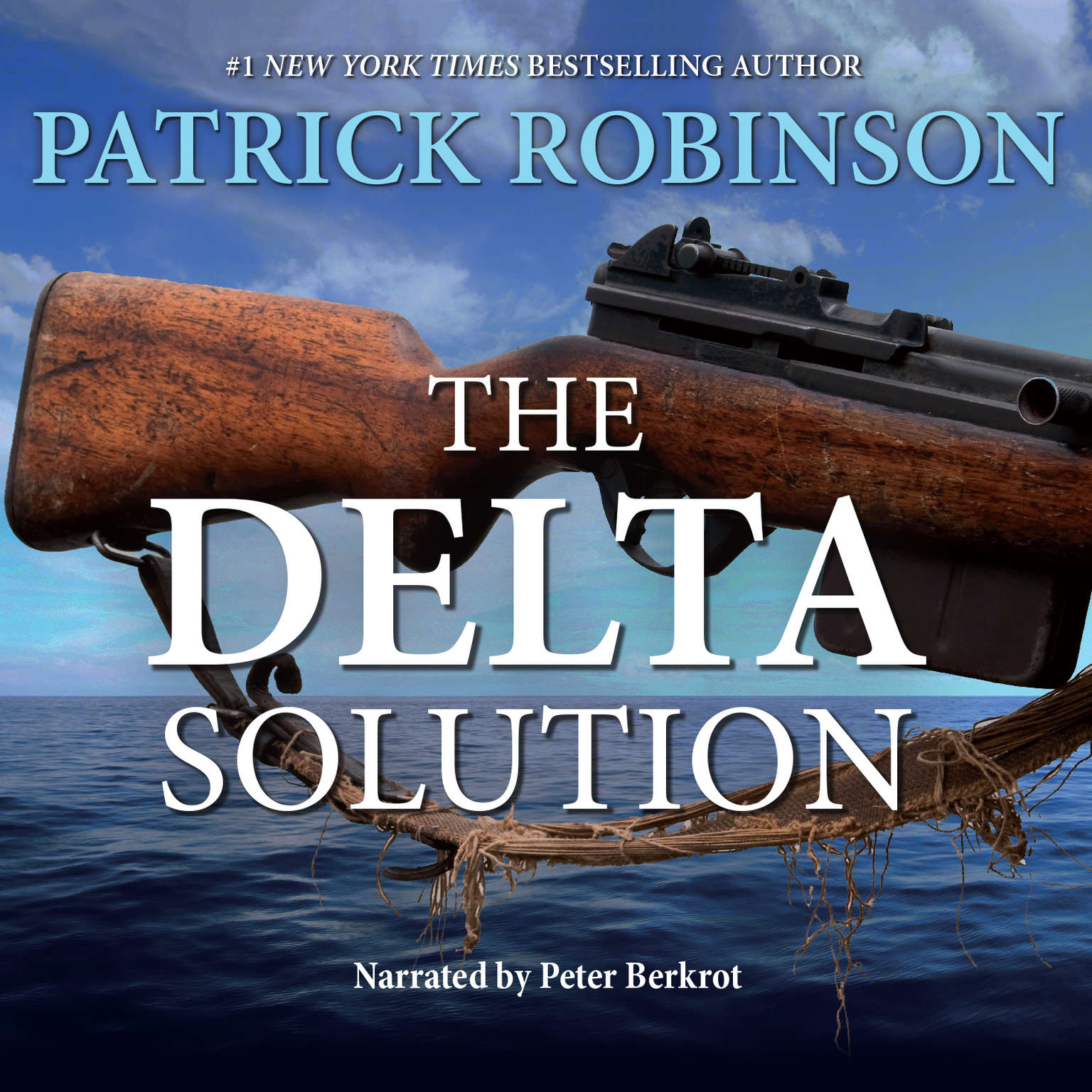 Printable The Delta Solution: An International Thriller Audiobook Cover Art