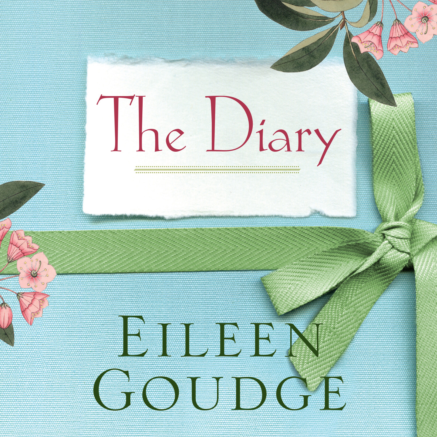 Printable The Diary Audiobook Cover Art