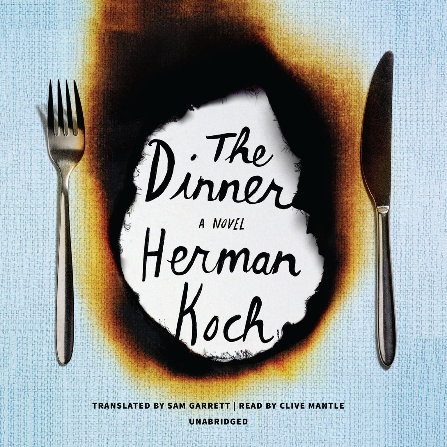Printable The Dinner: A Novel Audiobook Cover Art