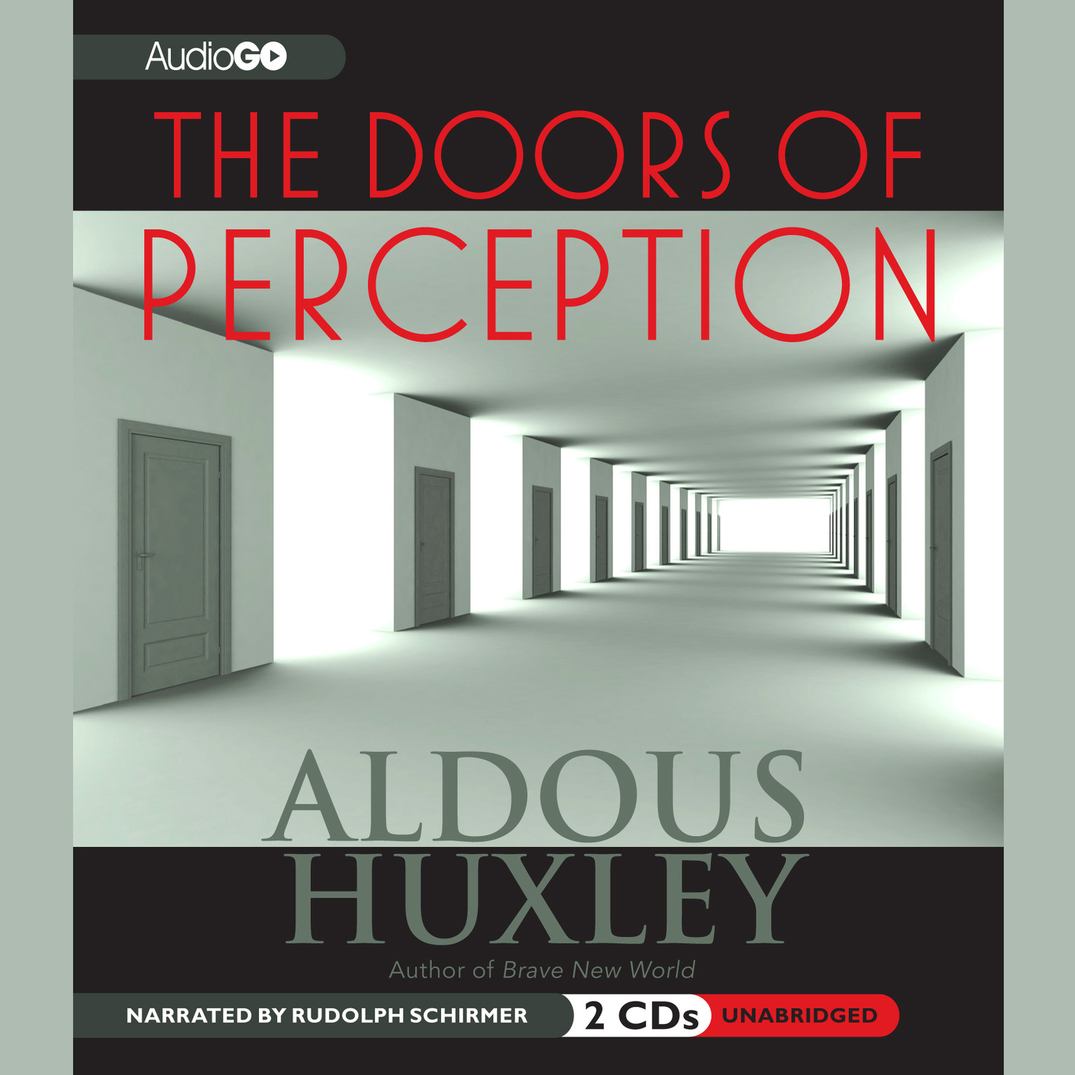 Printable The Doors of Perception Audiobook Cover Art