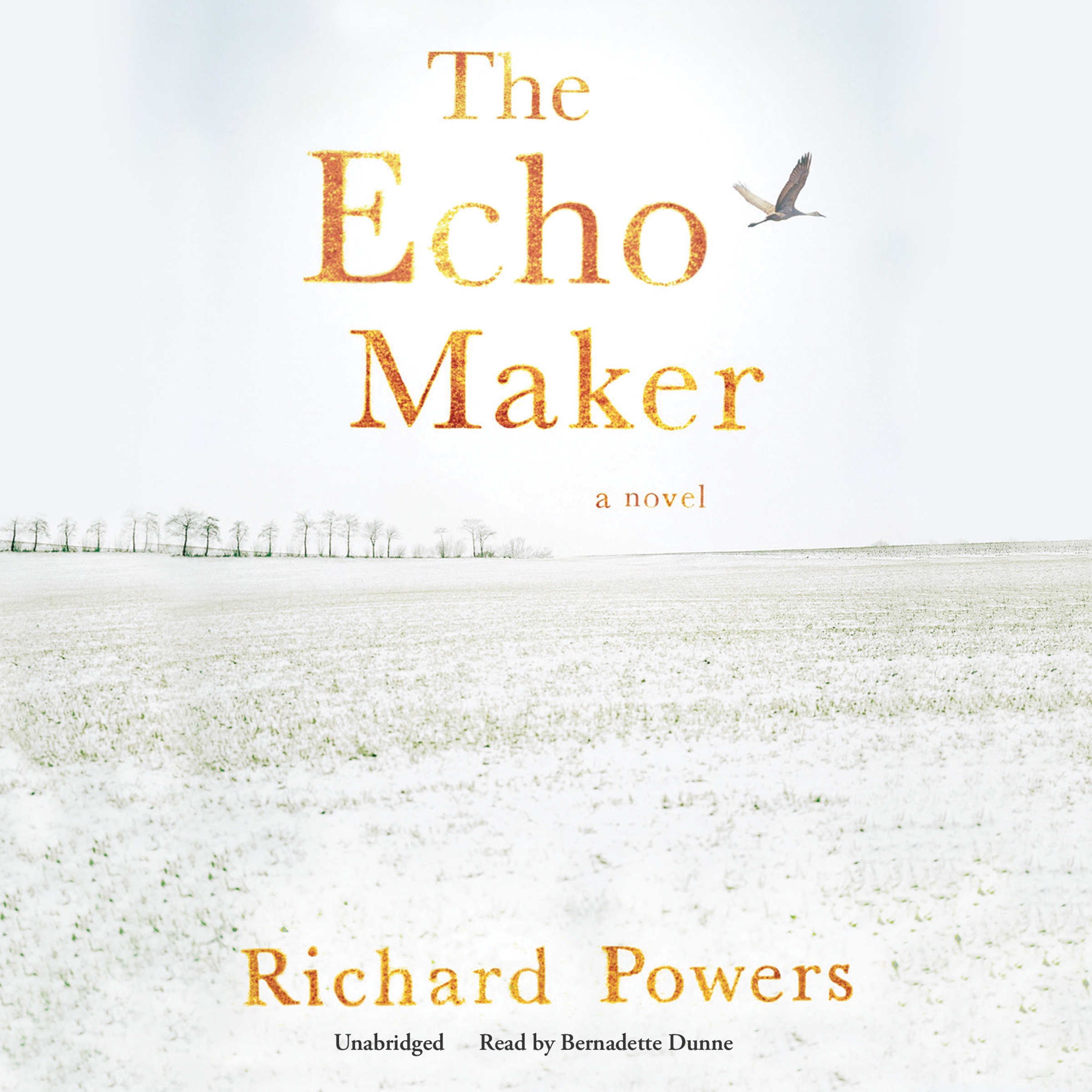 Printable The Echo Maker Audiobook Cover Art