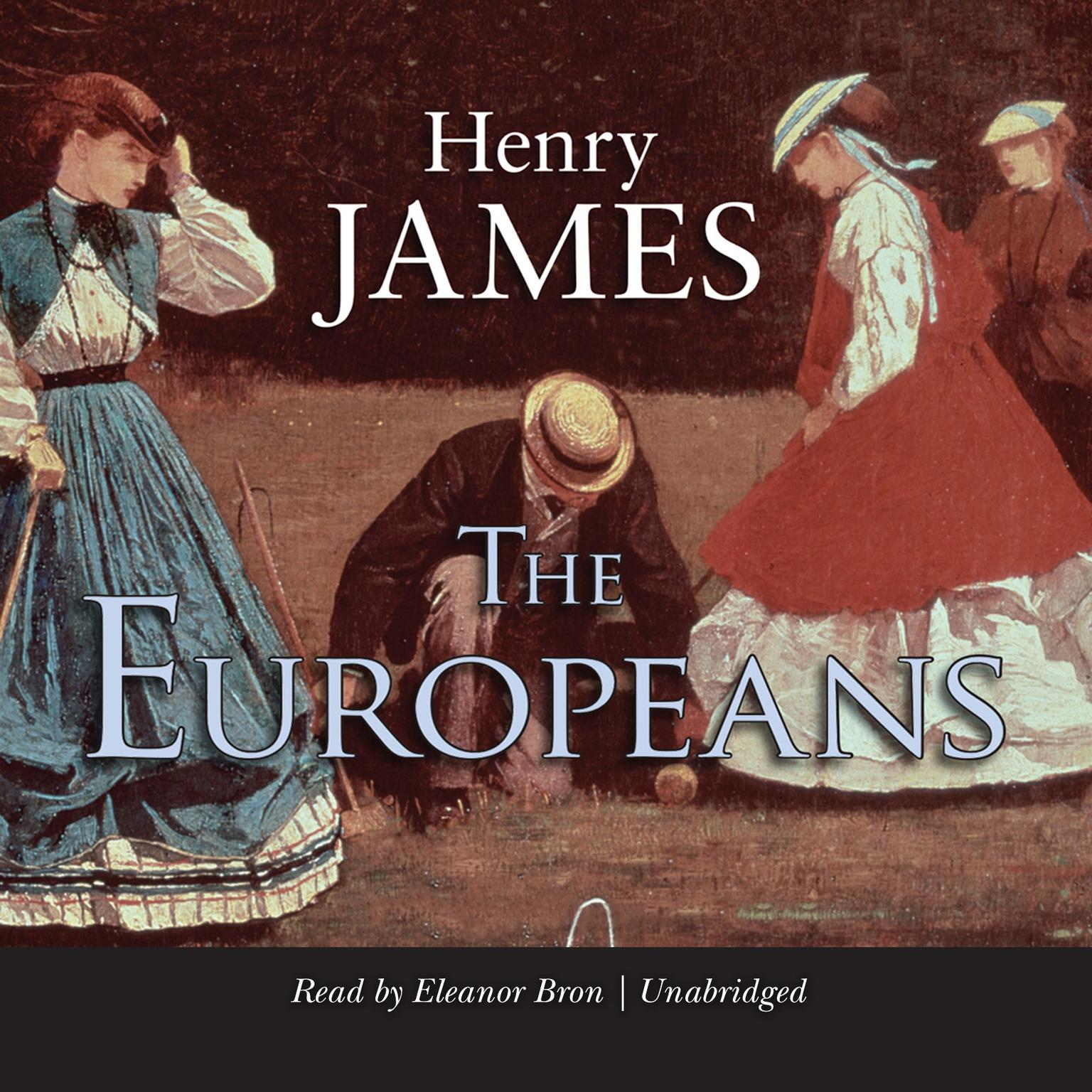 Printable The Europeans Audiobook Cover Art
