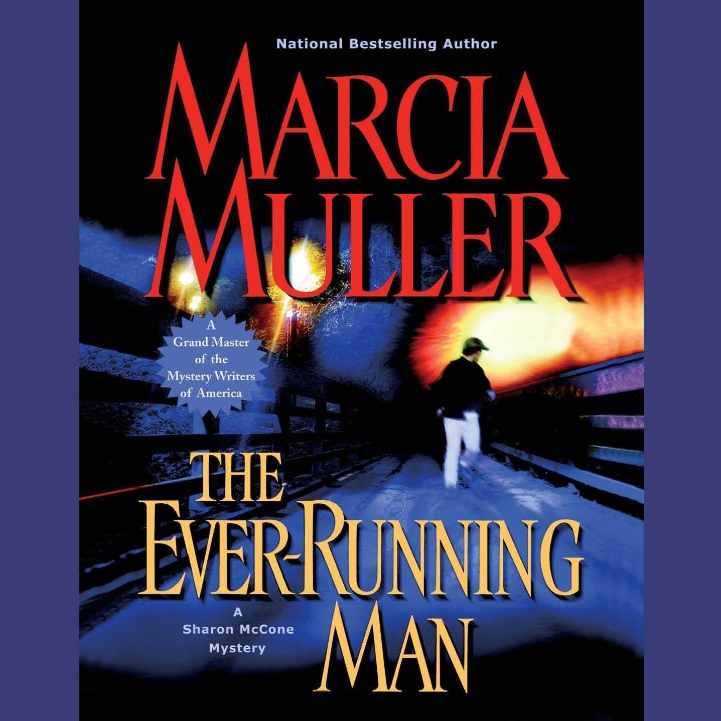 Printable The Ever-Running Man Audiobook Cover Art