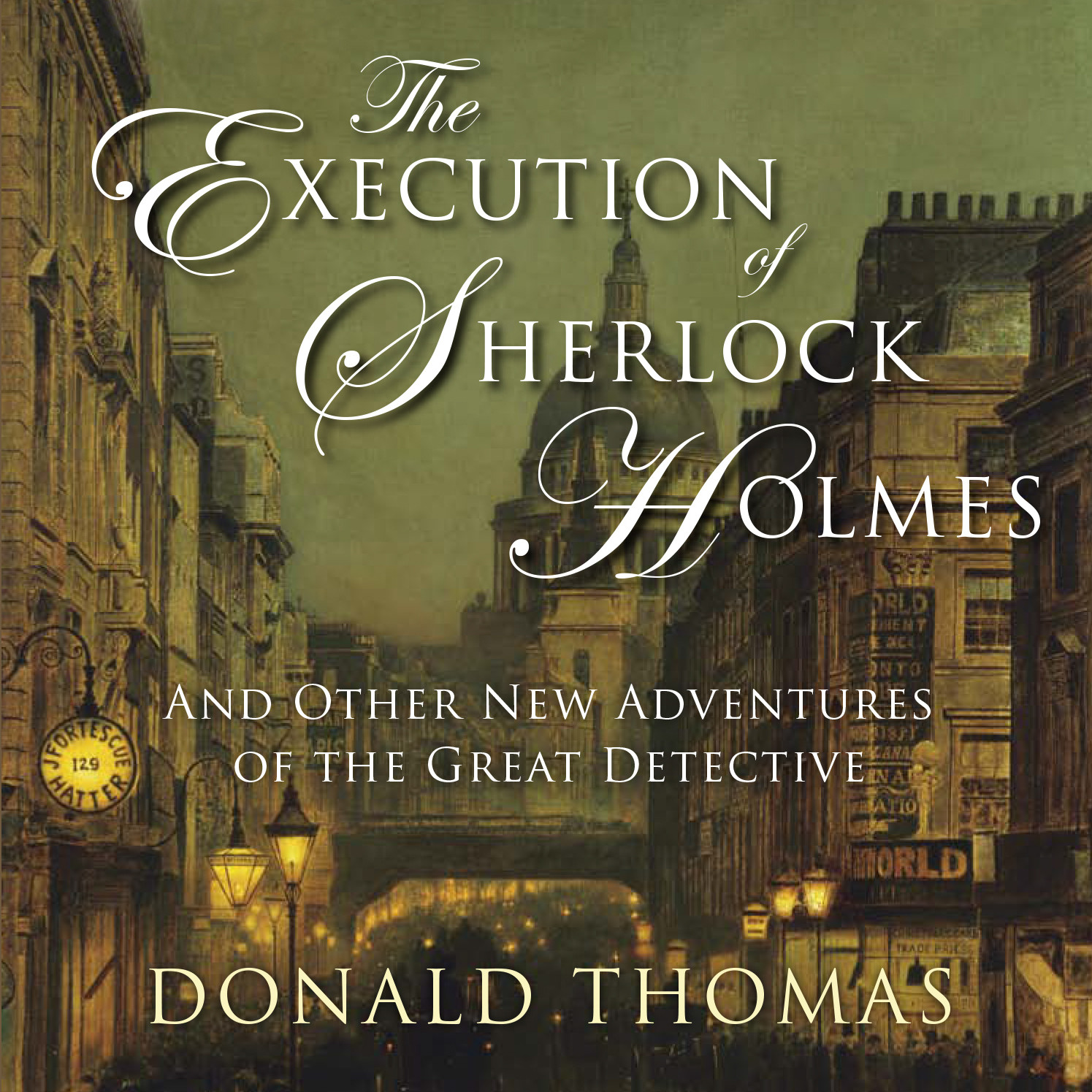 Printable The Execution of Sherlock Holmes: And Other New Adventures of the Great Detective Audiobook Cover Art