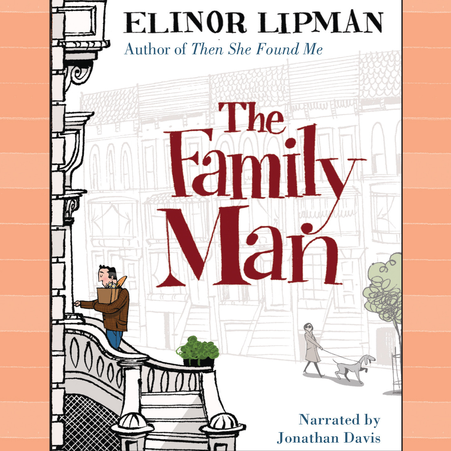 Printable The Family Man Audiobook Cover Art