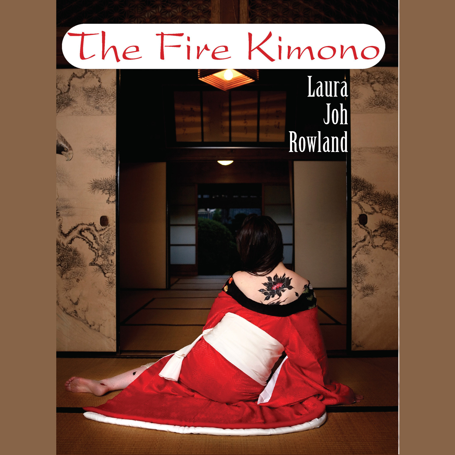Printable The Fire Kimono Audiobook Cover Art