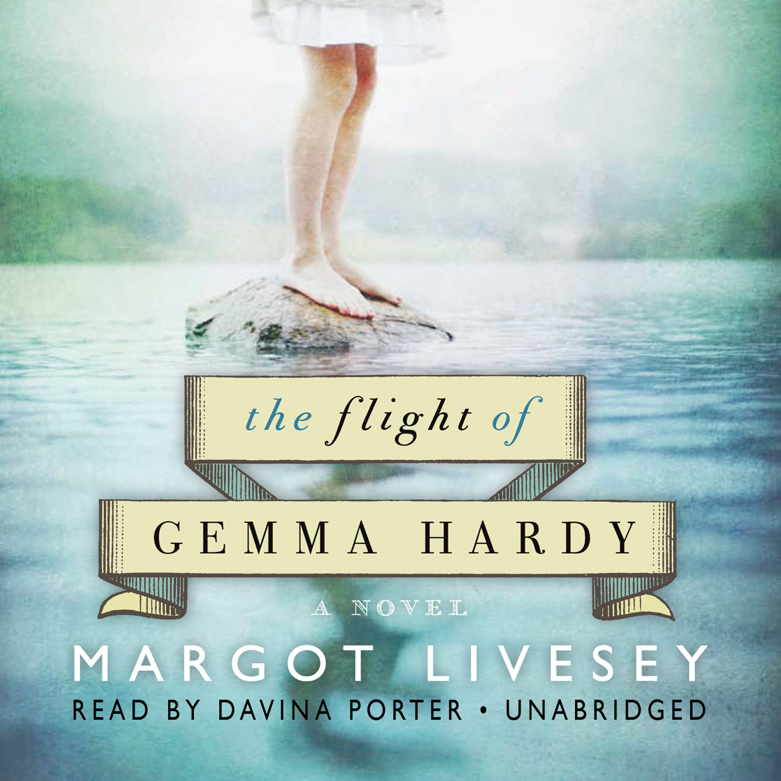 Printable The Flight of Gemma Hardy: A Novel Audiobook Cover Art