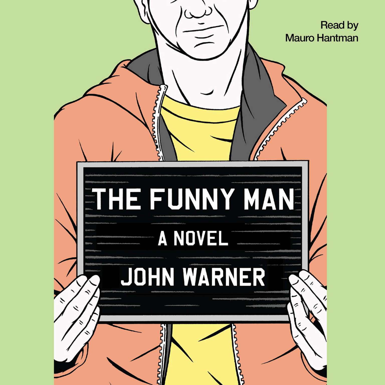 Printable The Funny Man: A Novel Audiobook Cover Art