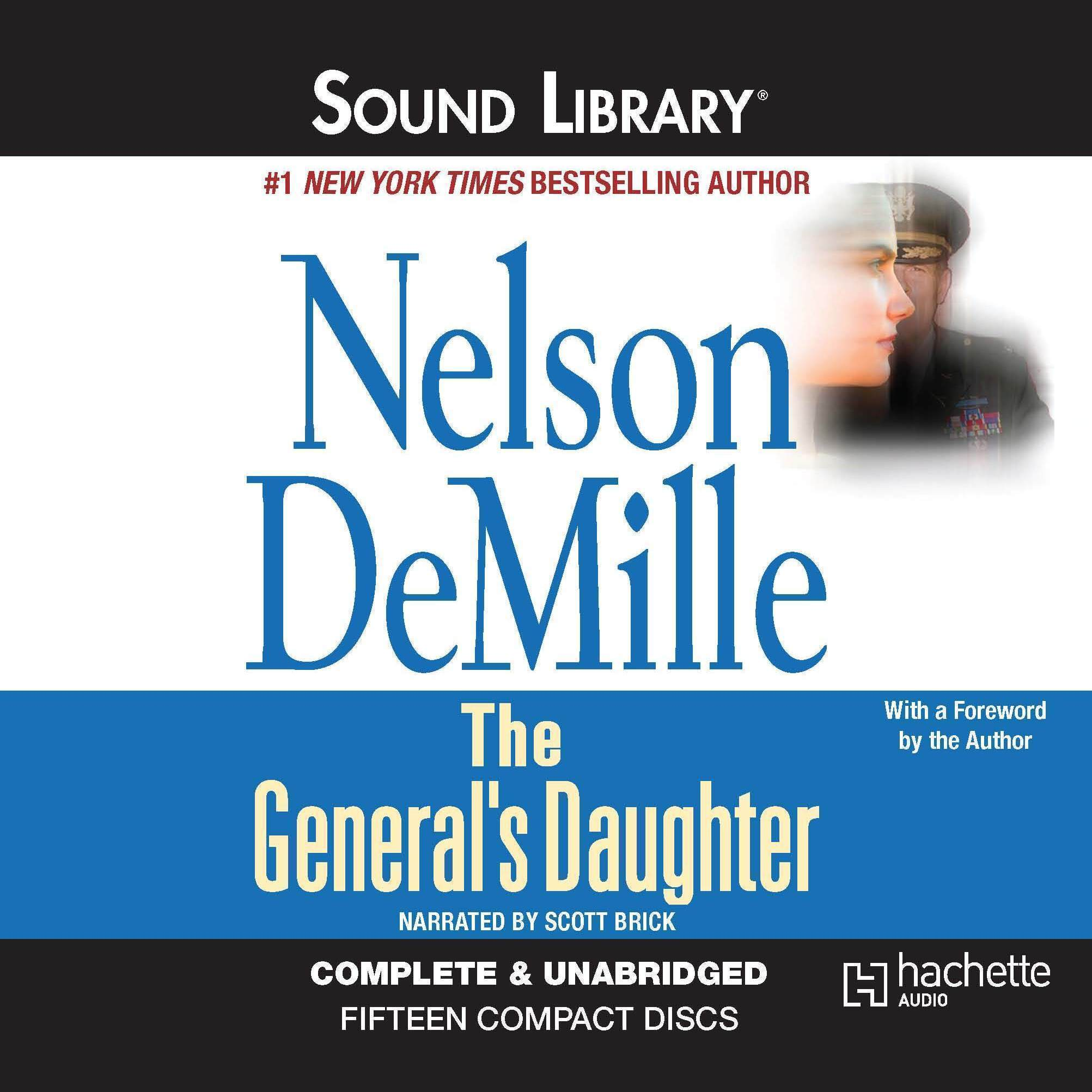 Printable The General's Daughter Audiobook Cover Art