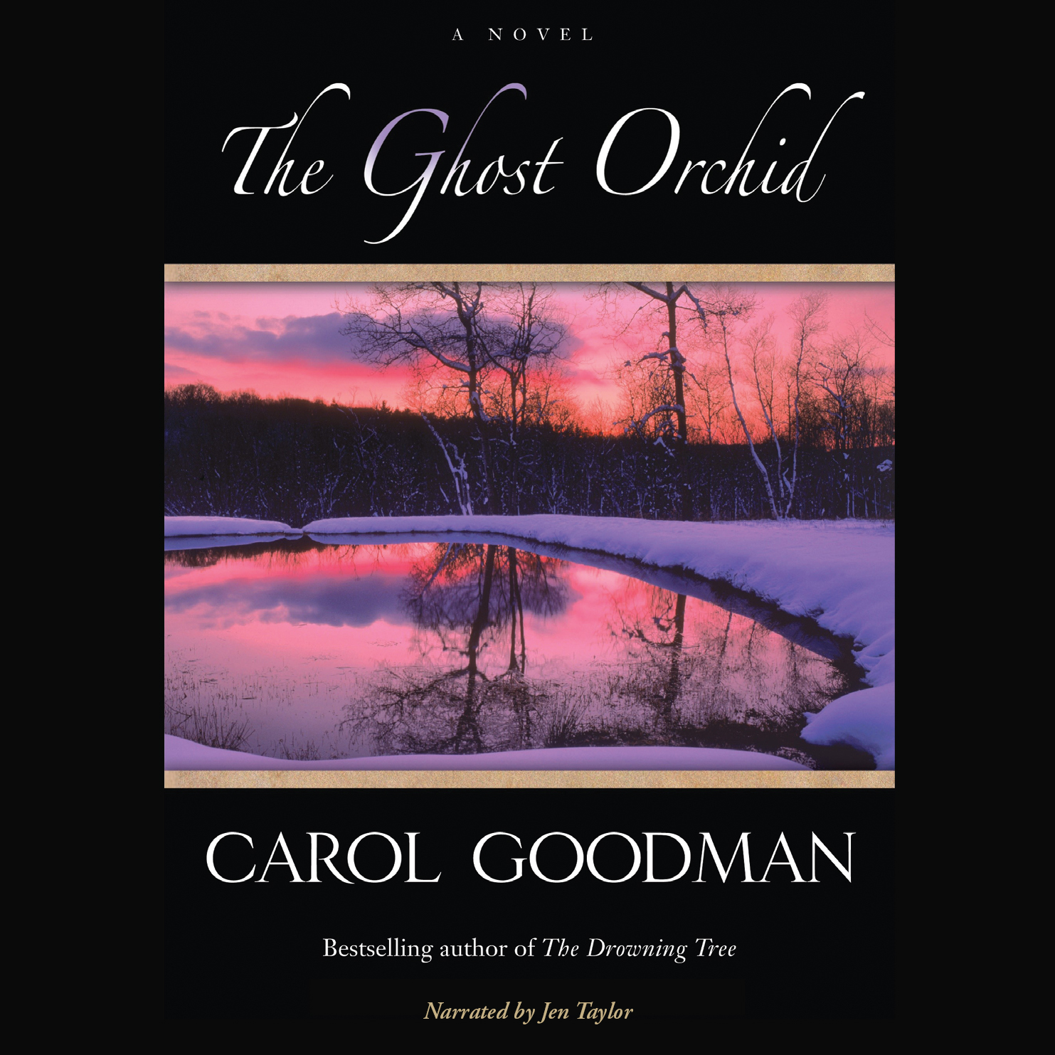 Printable The Ghost Orchid Audiobook Cover Art