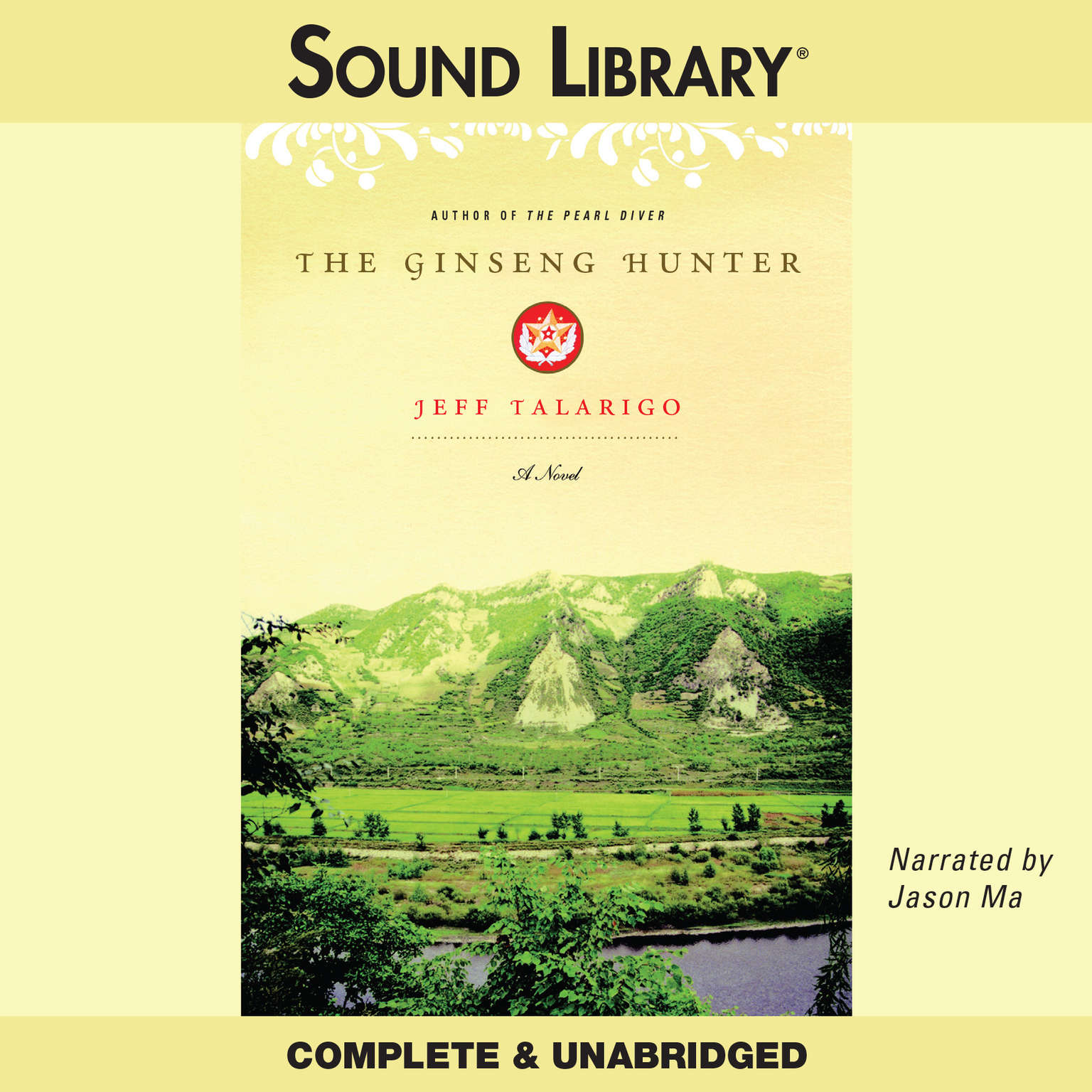 Printable The Ginseng Hunter Audiobook Cover Art