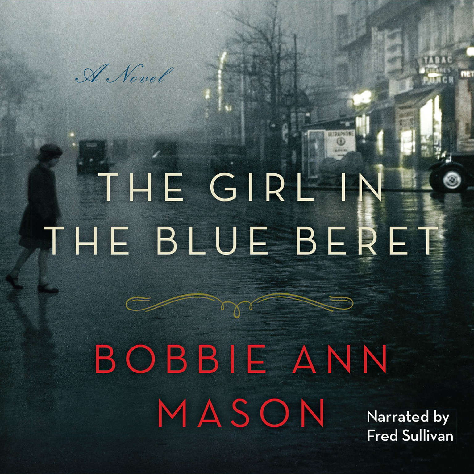 Printable The Girl in the Blue Beret Audiobook Cover Art