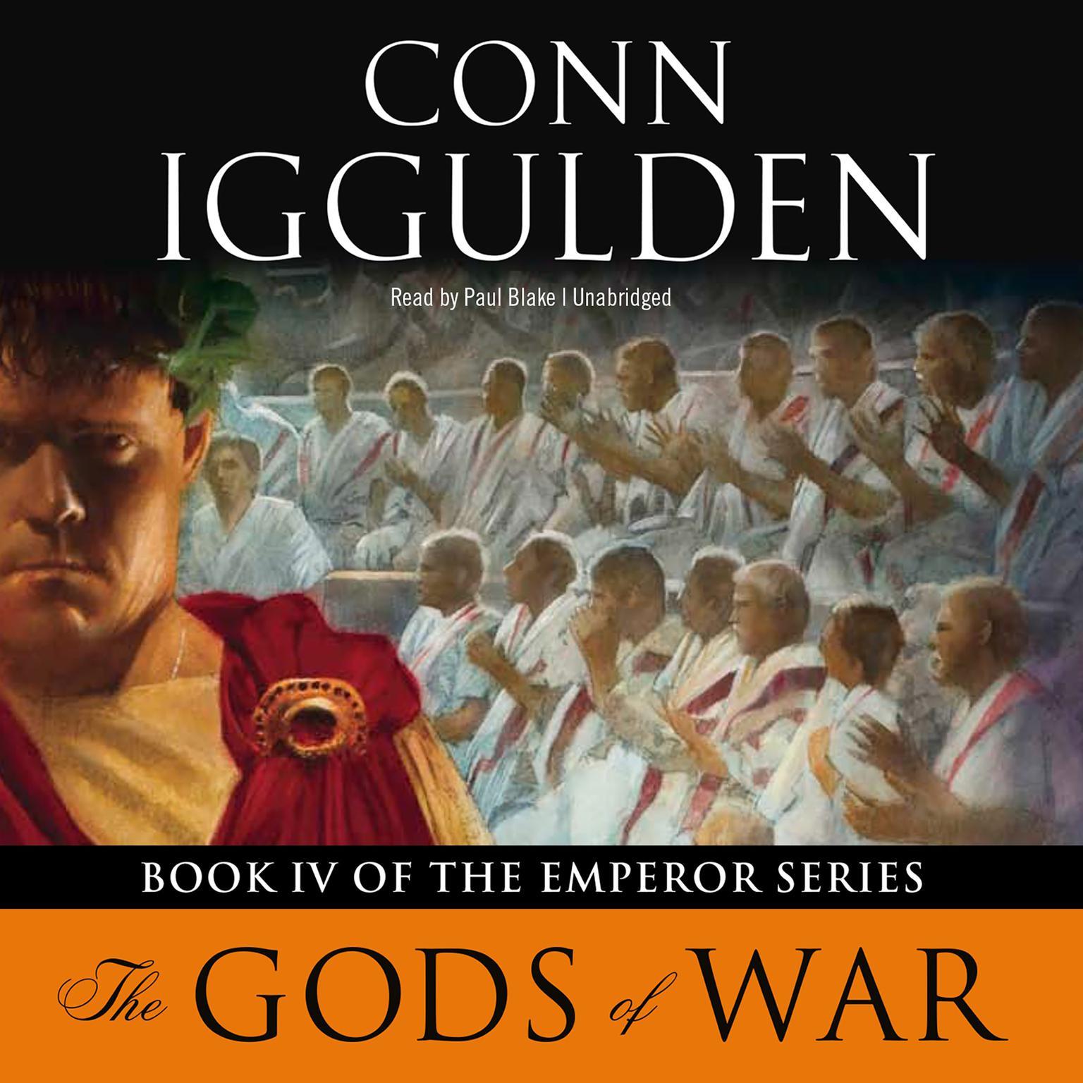 Printable Emperor: The Gods of War Audiobook Cover Art