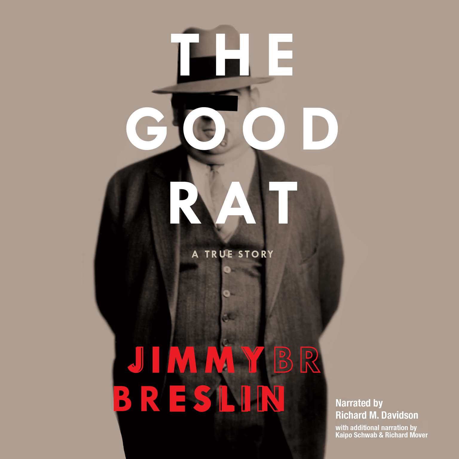Printable The Good Rat: A True Story Audiobook Cover Art