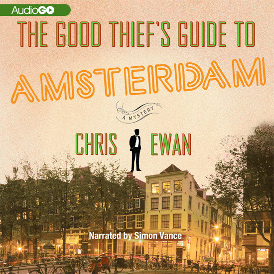 Printable The Good Thief's Guide to Amsterdam Audiobook Cover Art