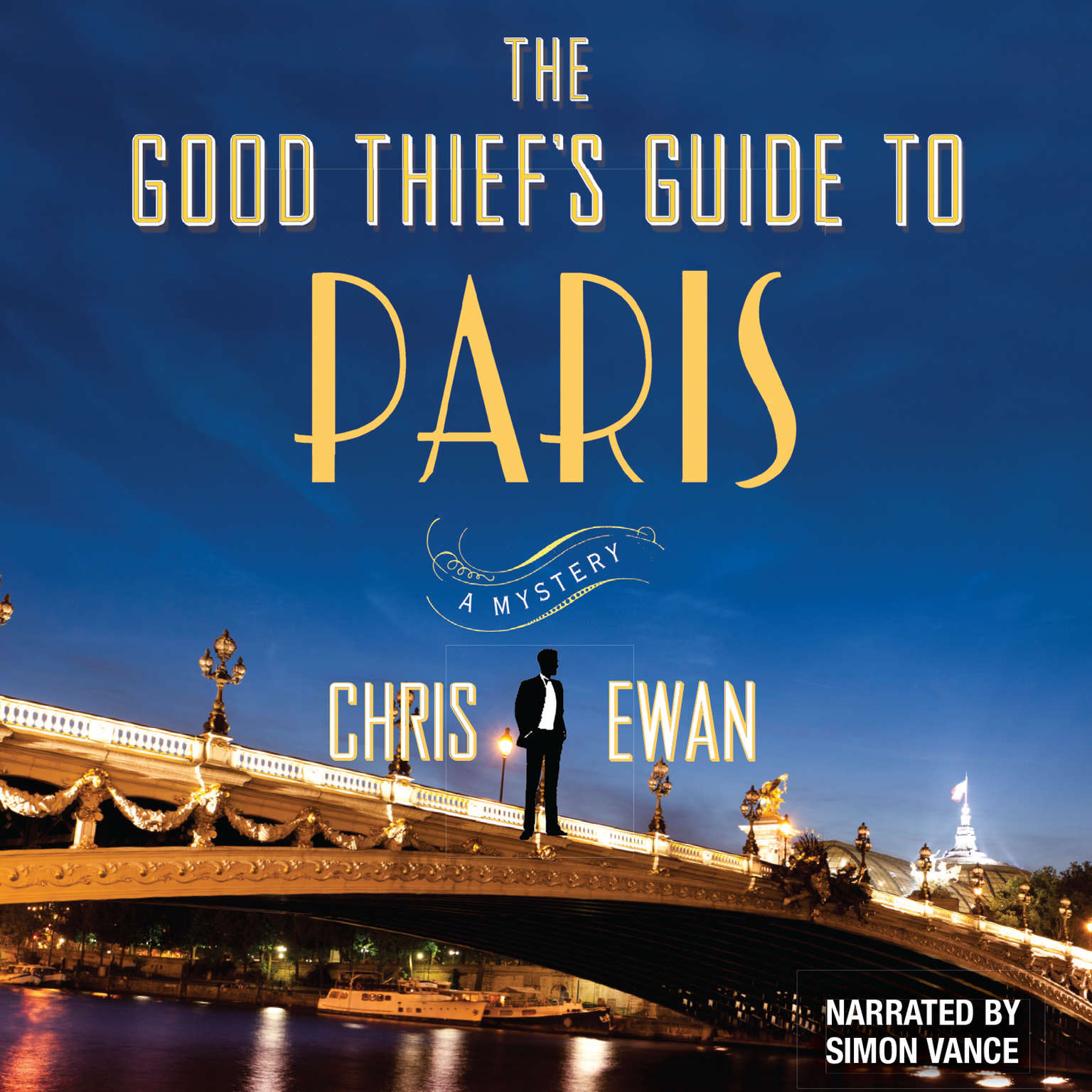 Printable The Good Thief's Guide to Paris Audiobook Cover Art