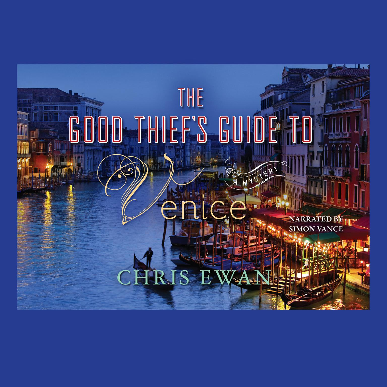 Printable The Good Thief's Guide to Venice Audiobook Cover Art
