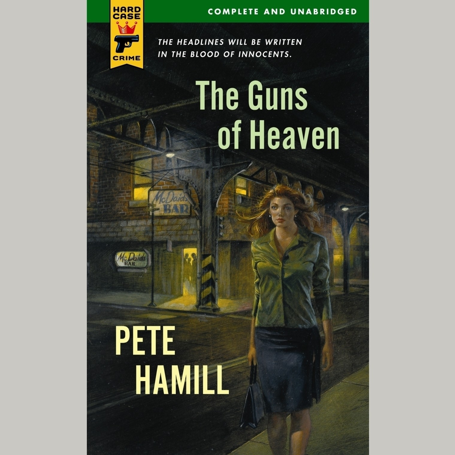 Printable The Guns of Heaven Audiobook Cover Art