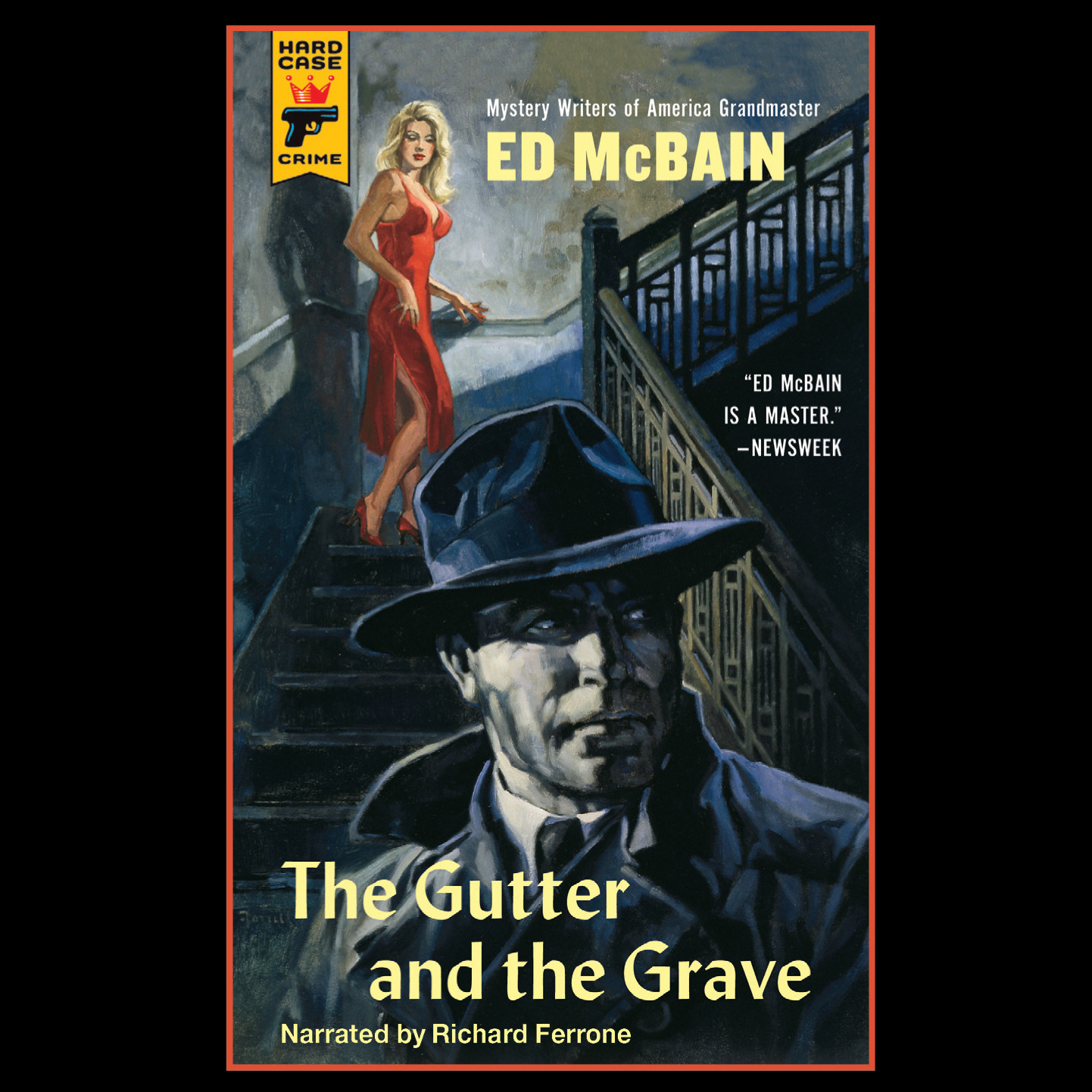 Printable The Gutter and the Grave Audiobook Cover Art
