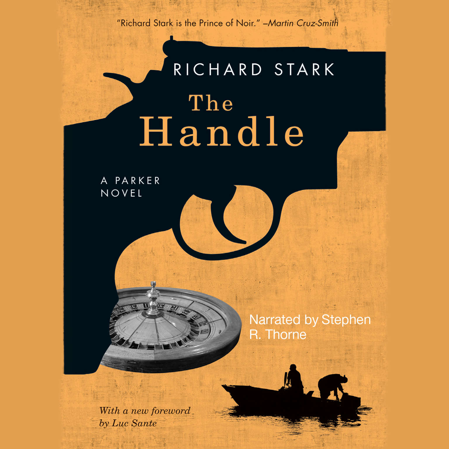Printable The Handle Audiobook Cover Art