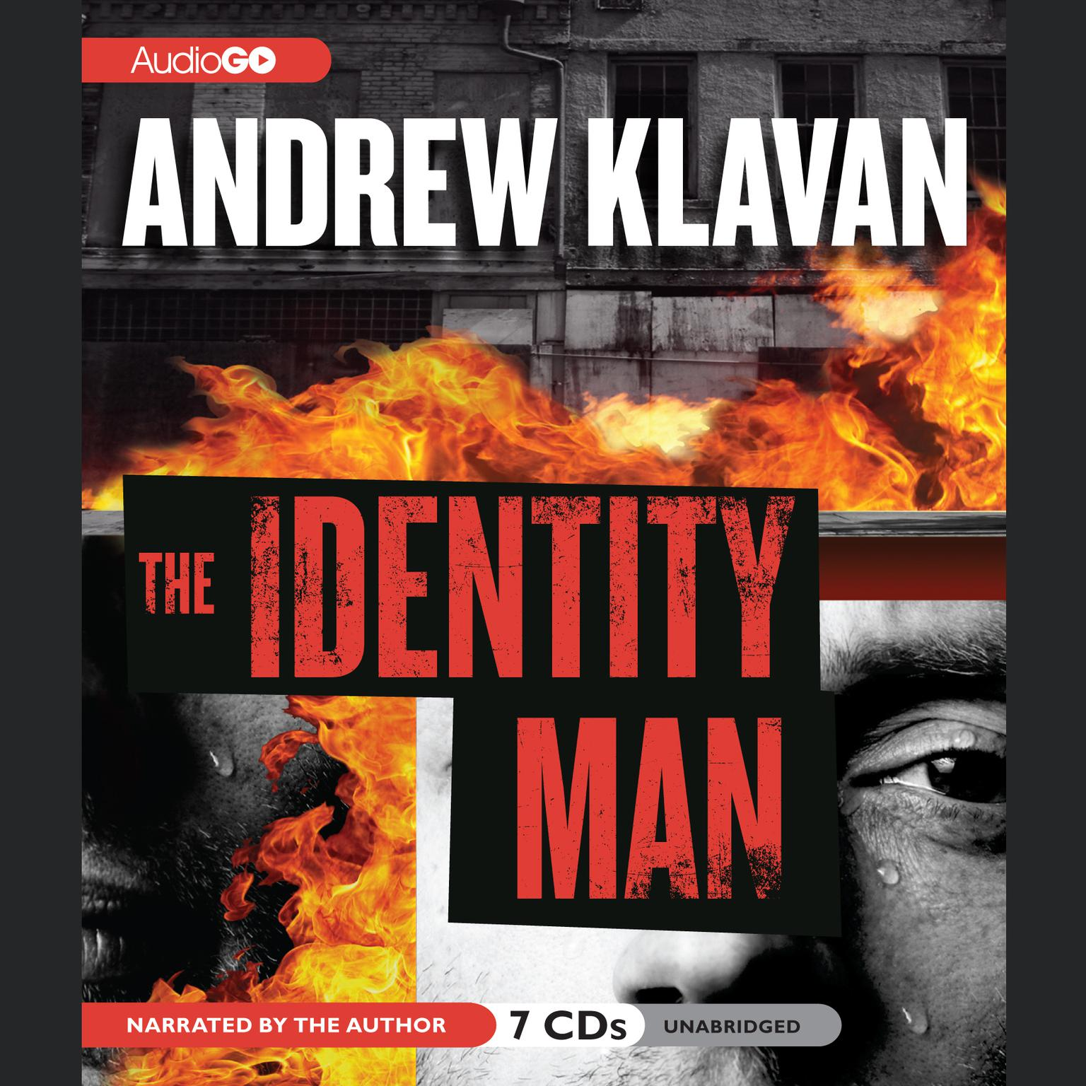 Printable The Identity Man Audiobook Cover Art