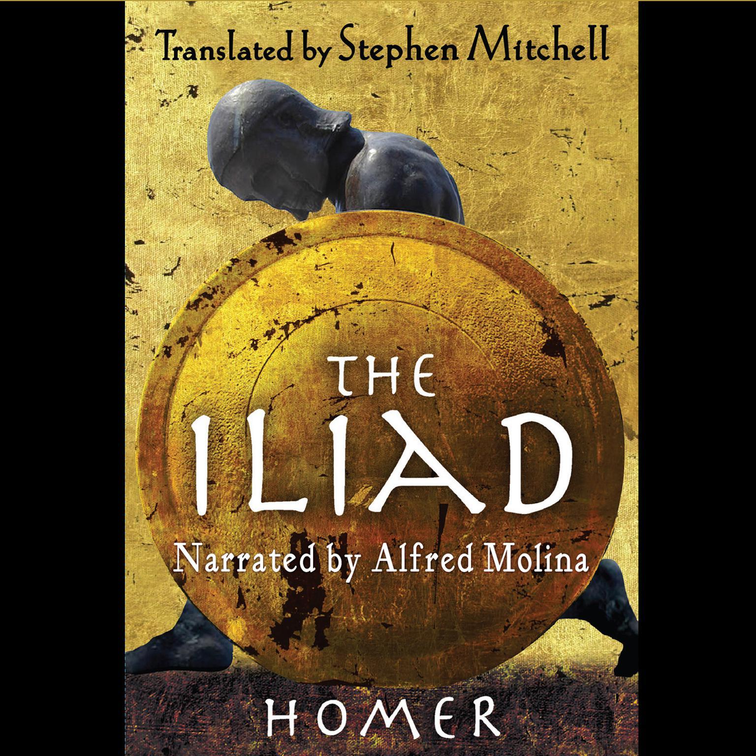 Printable The Iliad Audiobook Cover Art